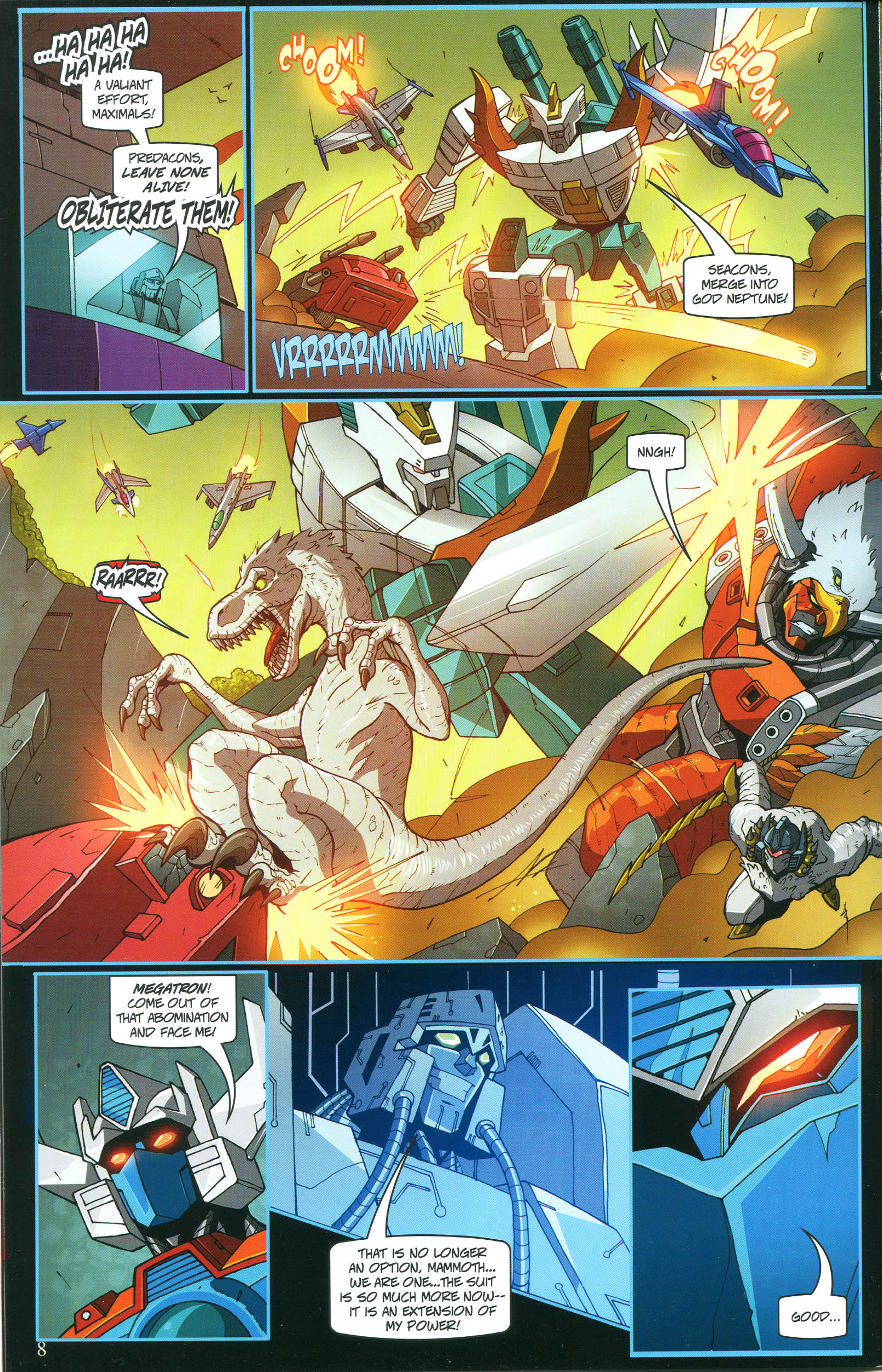 Read online Transformers: Collectors' Club comic -  Issue #54 - 8