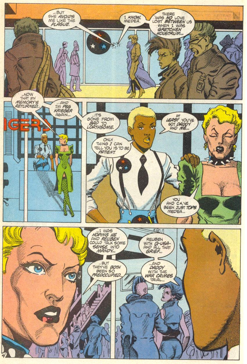 Read online American Flagg! comic -  Issue #14 - 5