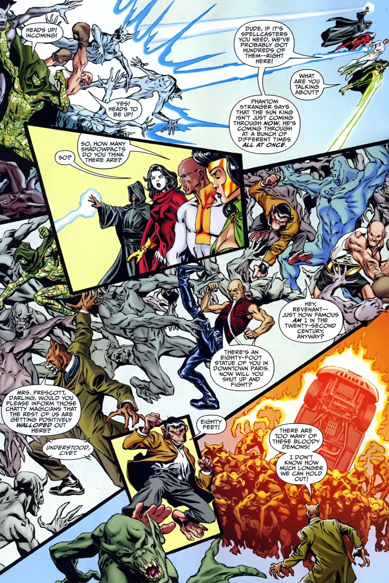 Read online Shadowpact comic -  Issue #25 - 9