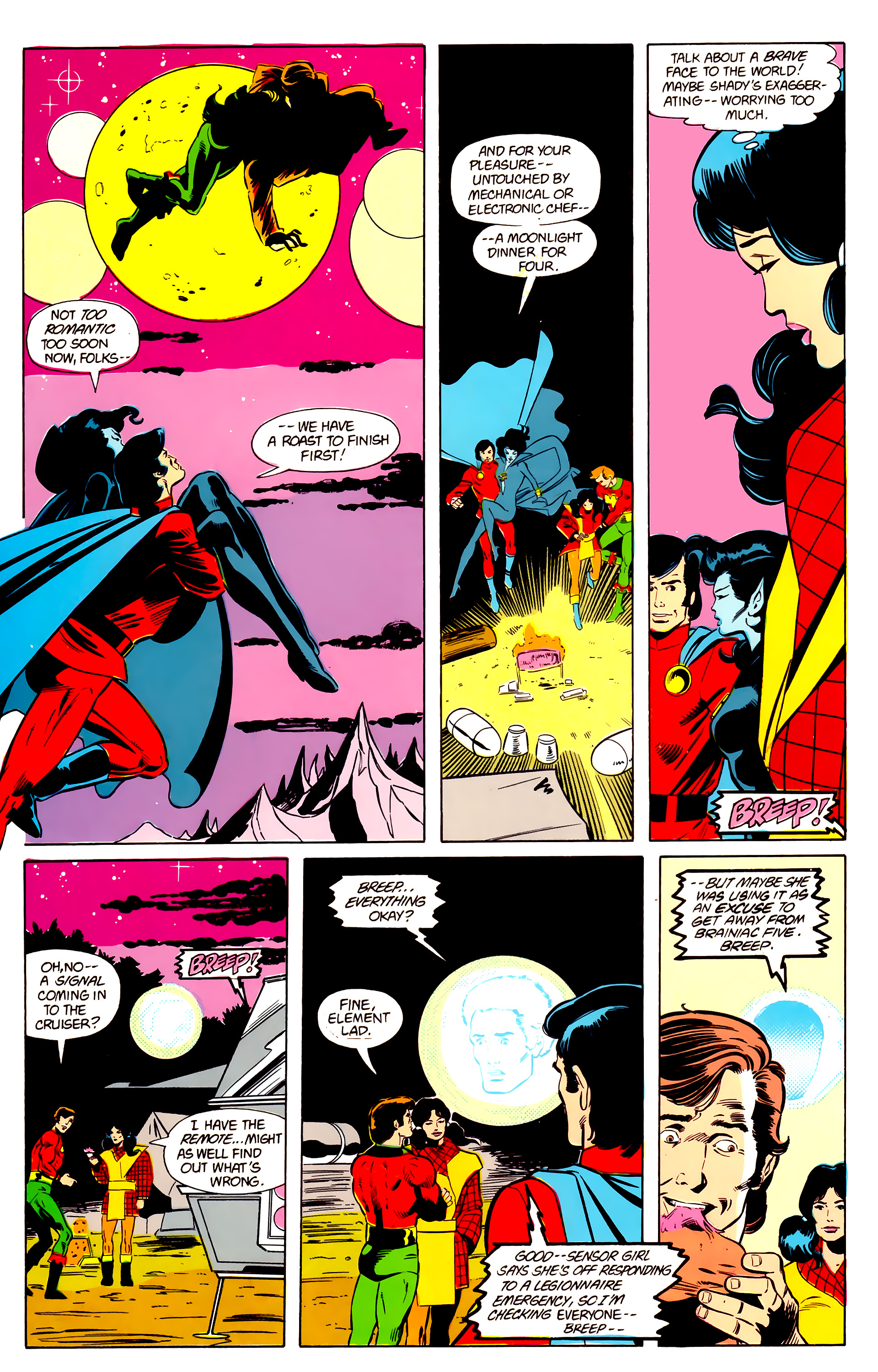 Legion of Super-Heroes (1984) 21 Page 17