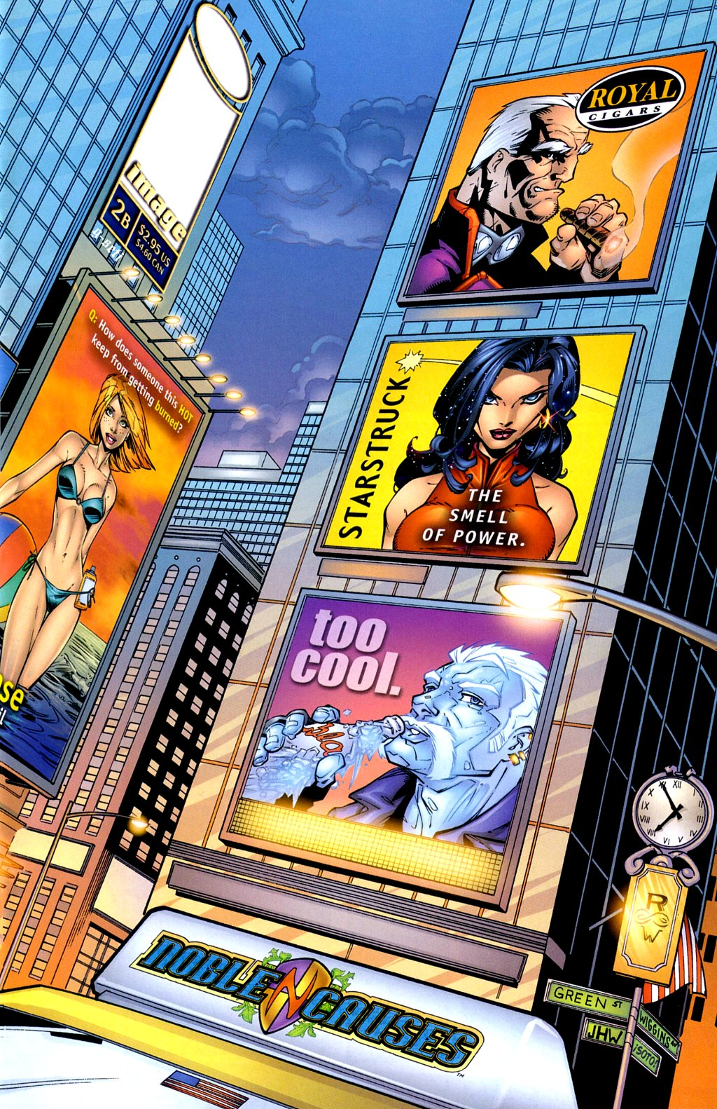 Read online Noble Causes (2002) comic -  Issue #2 - 2