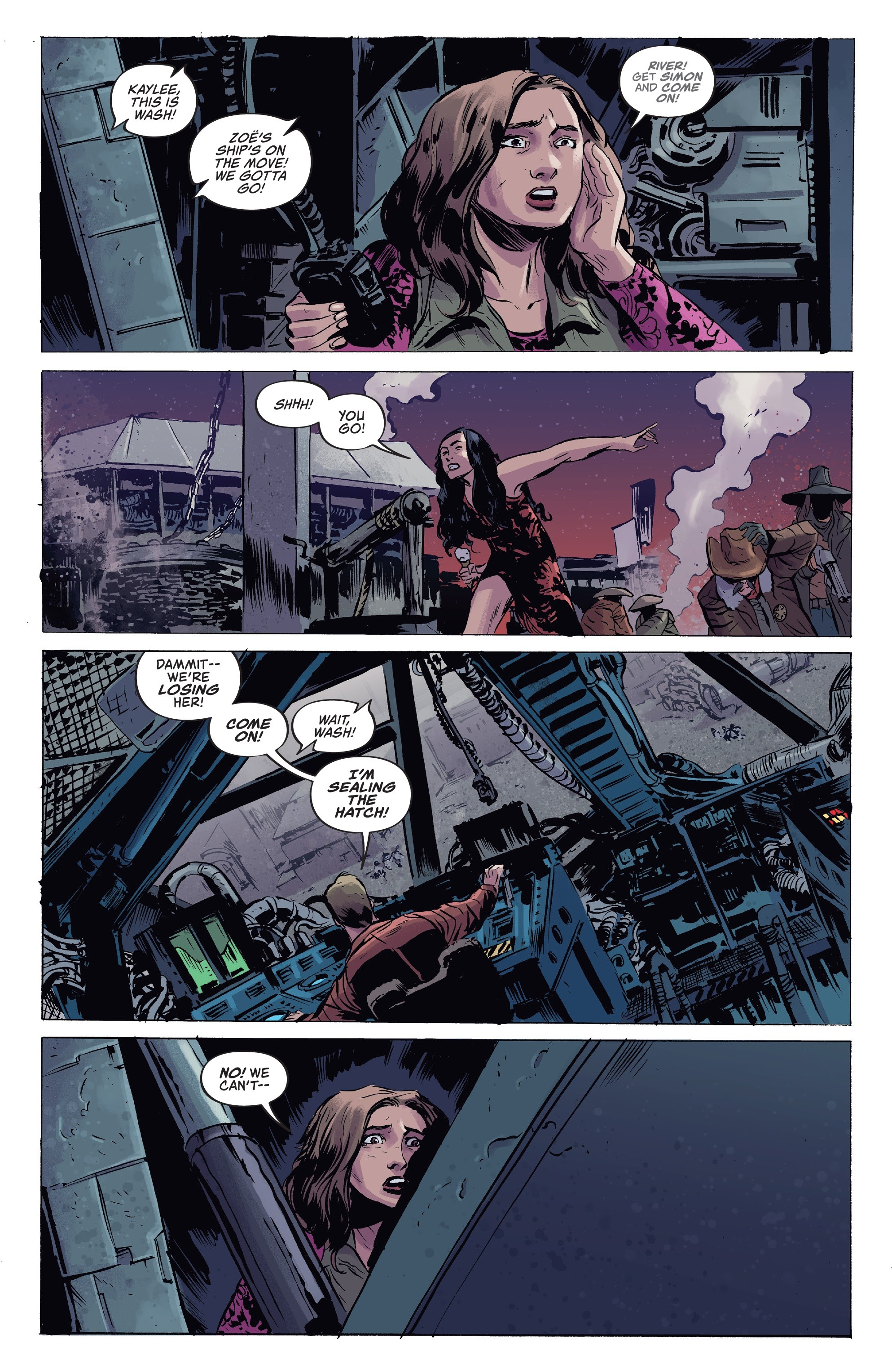 Read online Firefly comic -  Issue #7 - 4