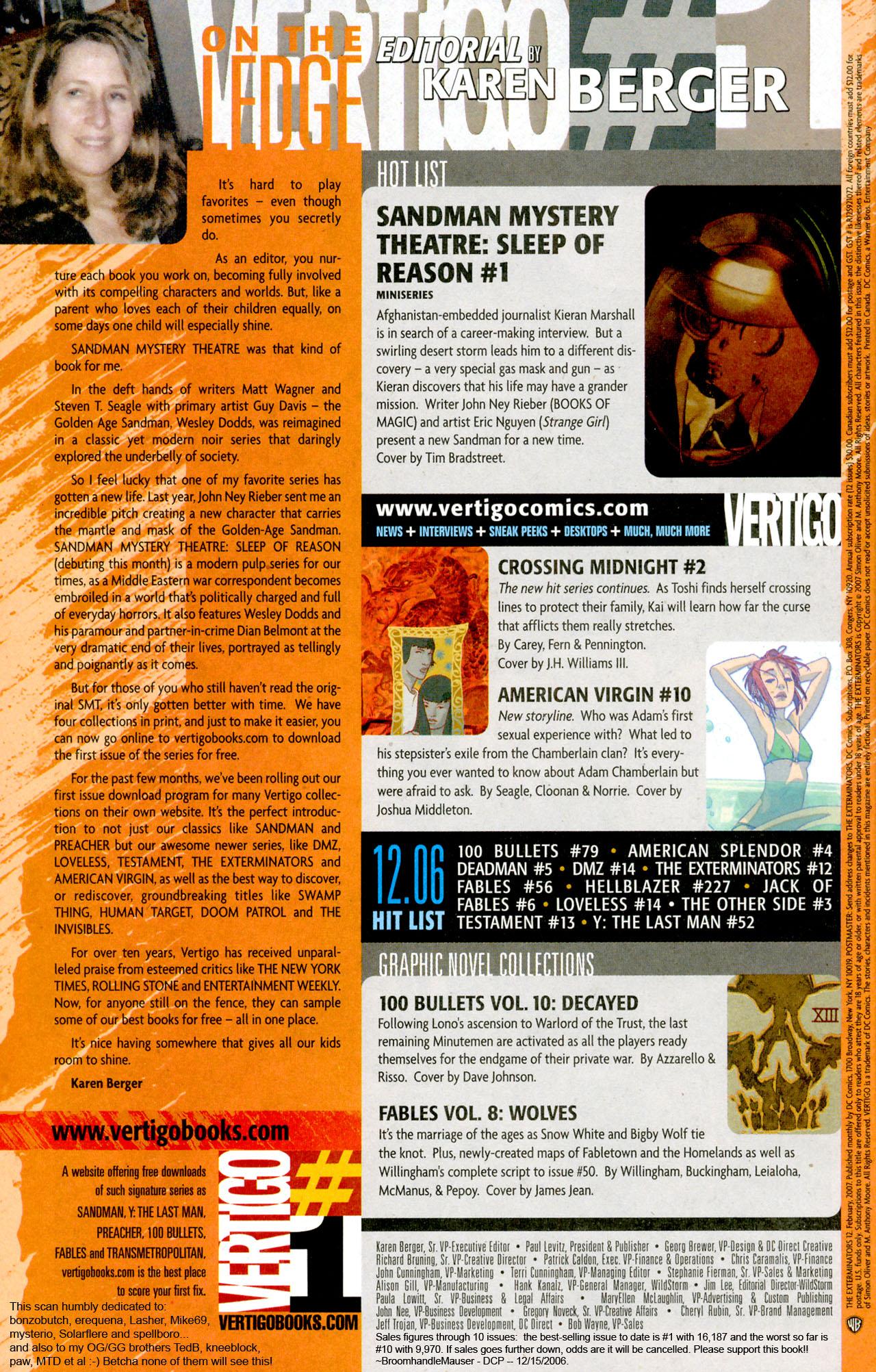 Read online The Exterminators comic -  Issue #12 - 24