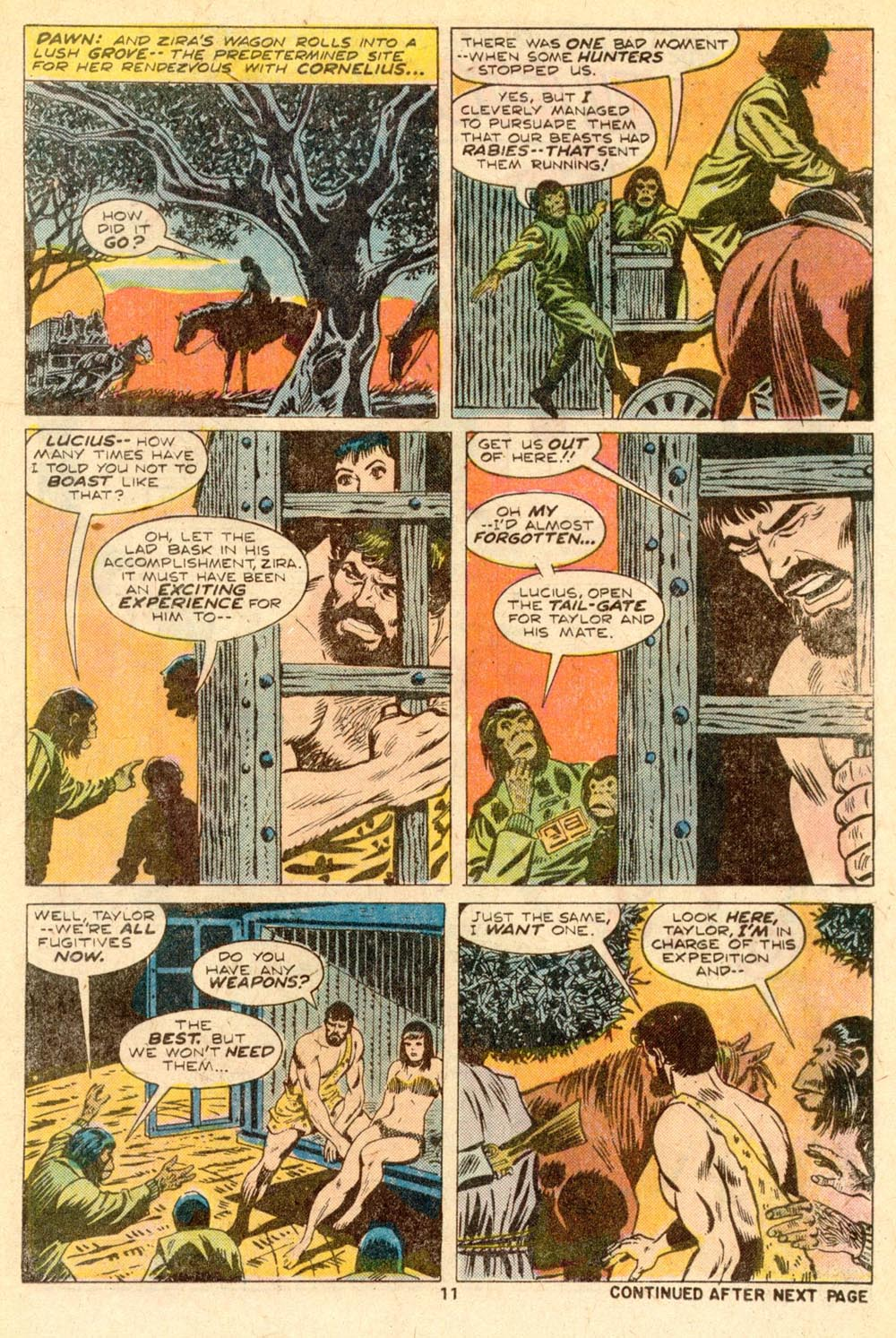 Read online Adventures on the Planet of the Apes comic -  Issue #5 - 8