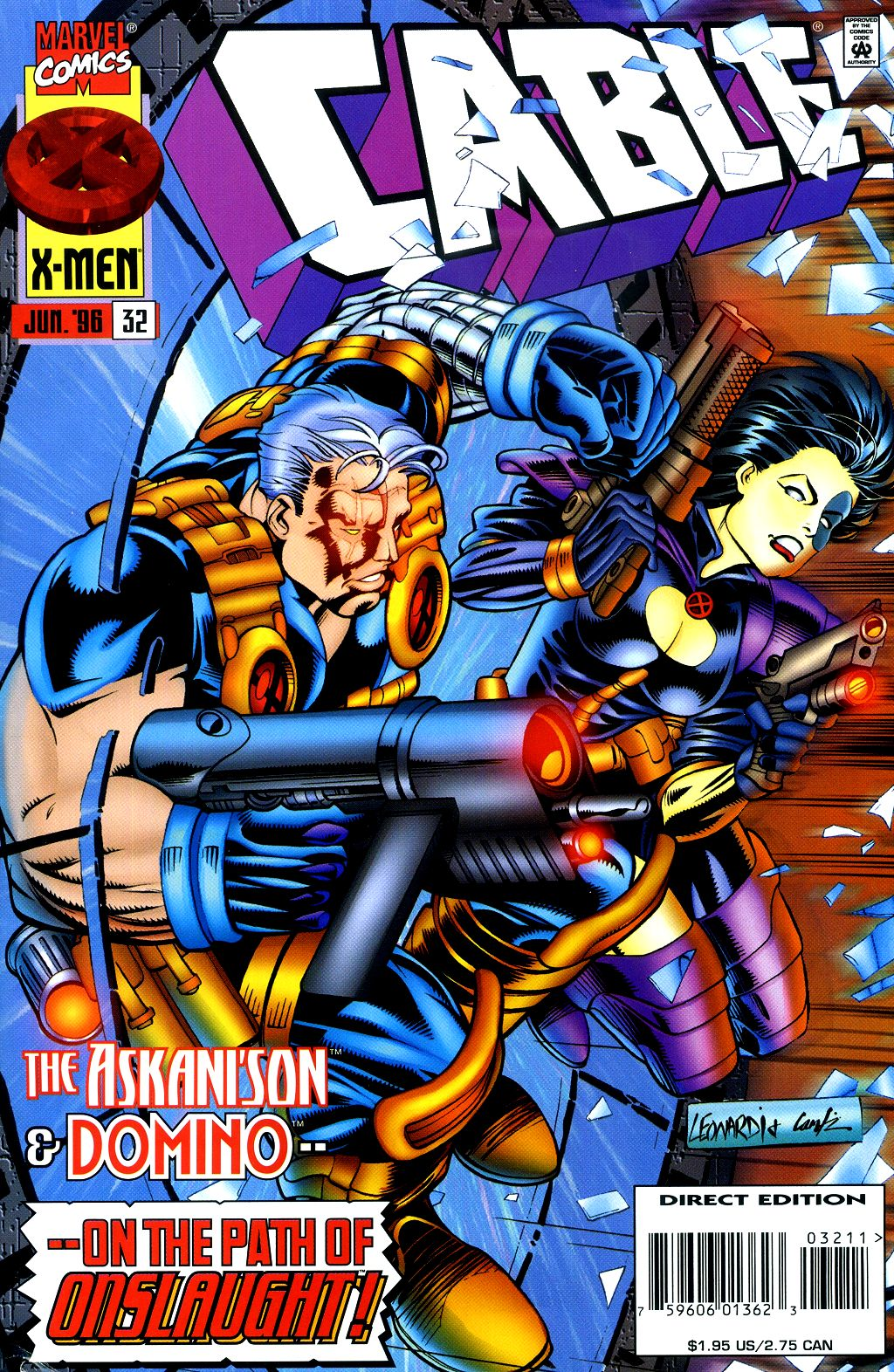 Cable (1993) 32 Page 1