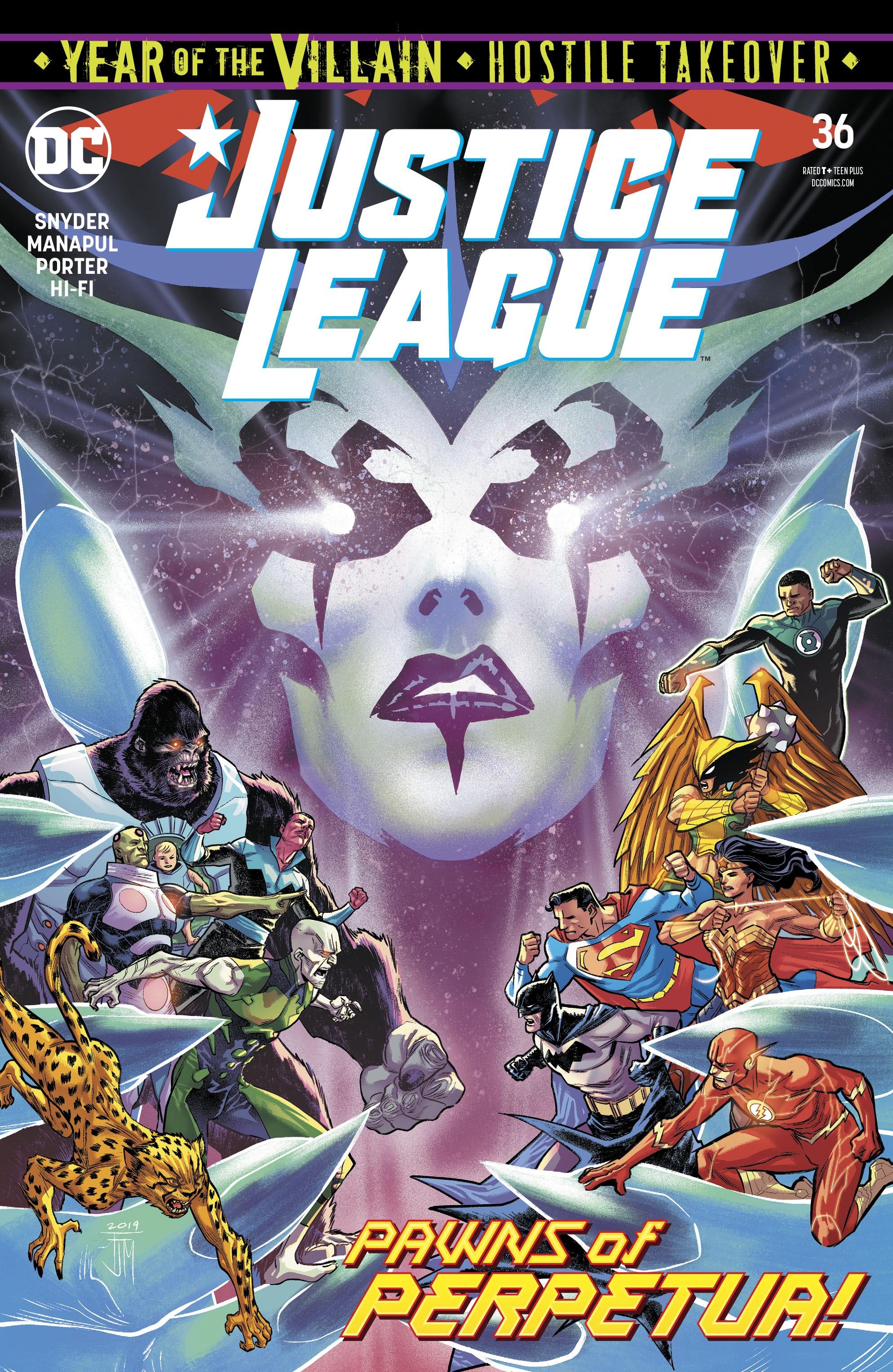 Justice League (2018) 36 Page 1