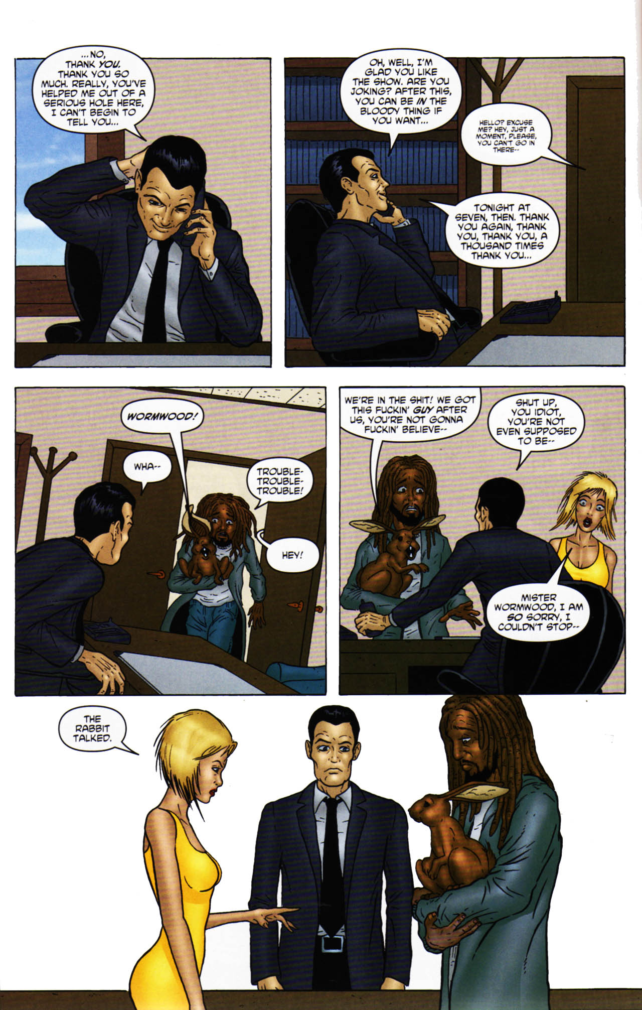 Read online Chronicles of Wormwood: The Last Enemy comic -  Issue # Full - 28