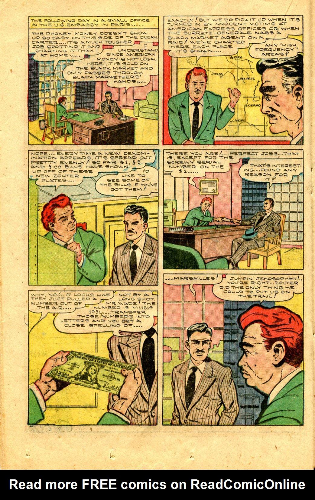 Read online Shadow Comics comic -  Issue #100 - 30