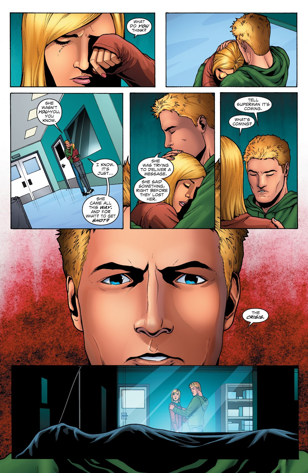 Read online Smallville Season 11 [II] comic -  Issue # TPB 1 - 130
