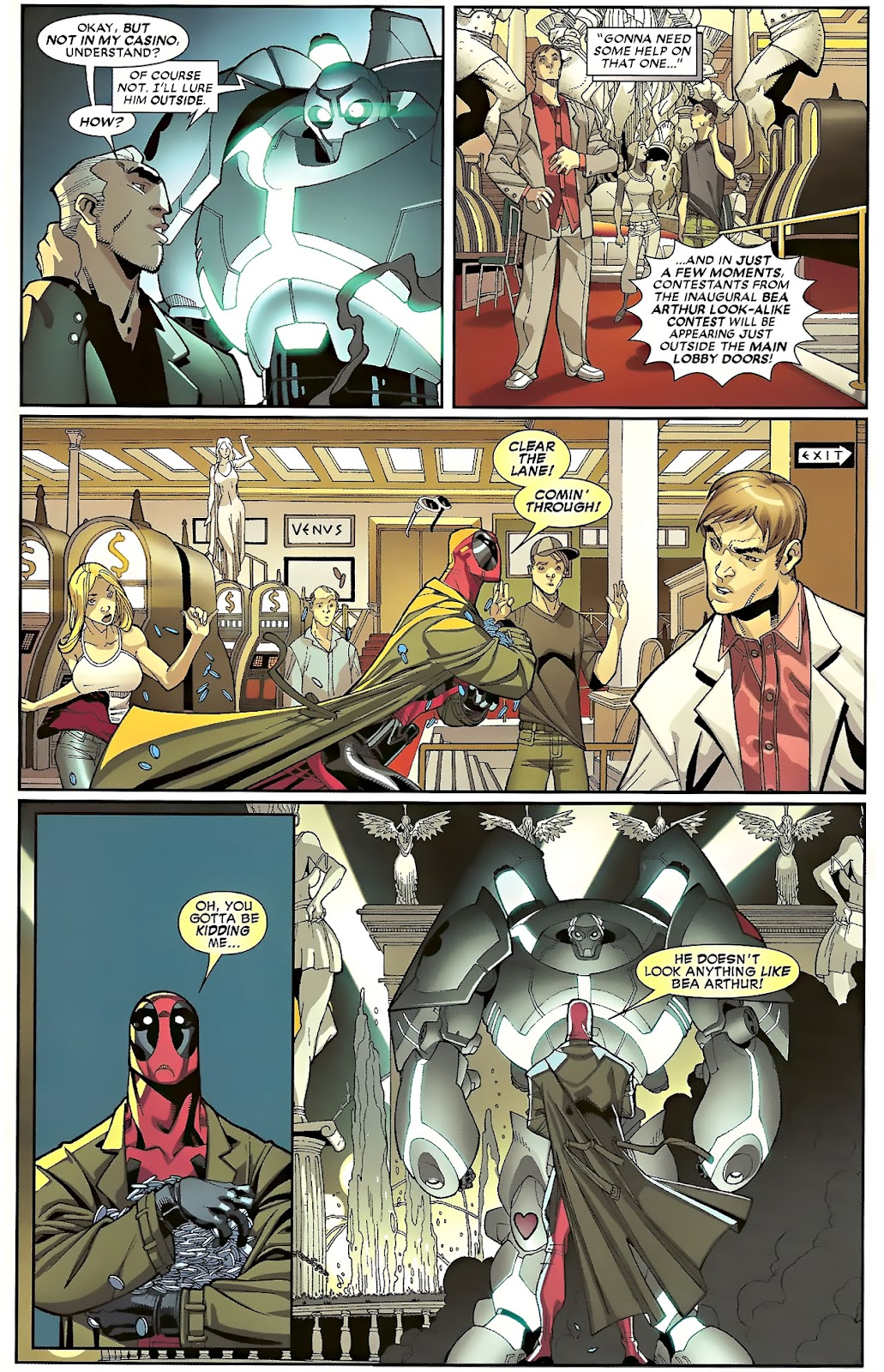 Read online Deadpool (2008) comic -  Issue #23 - 12
