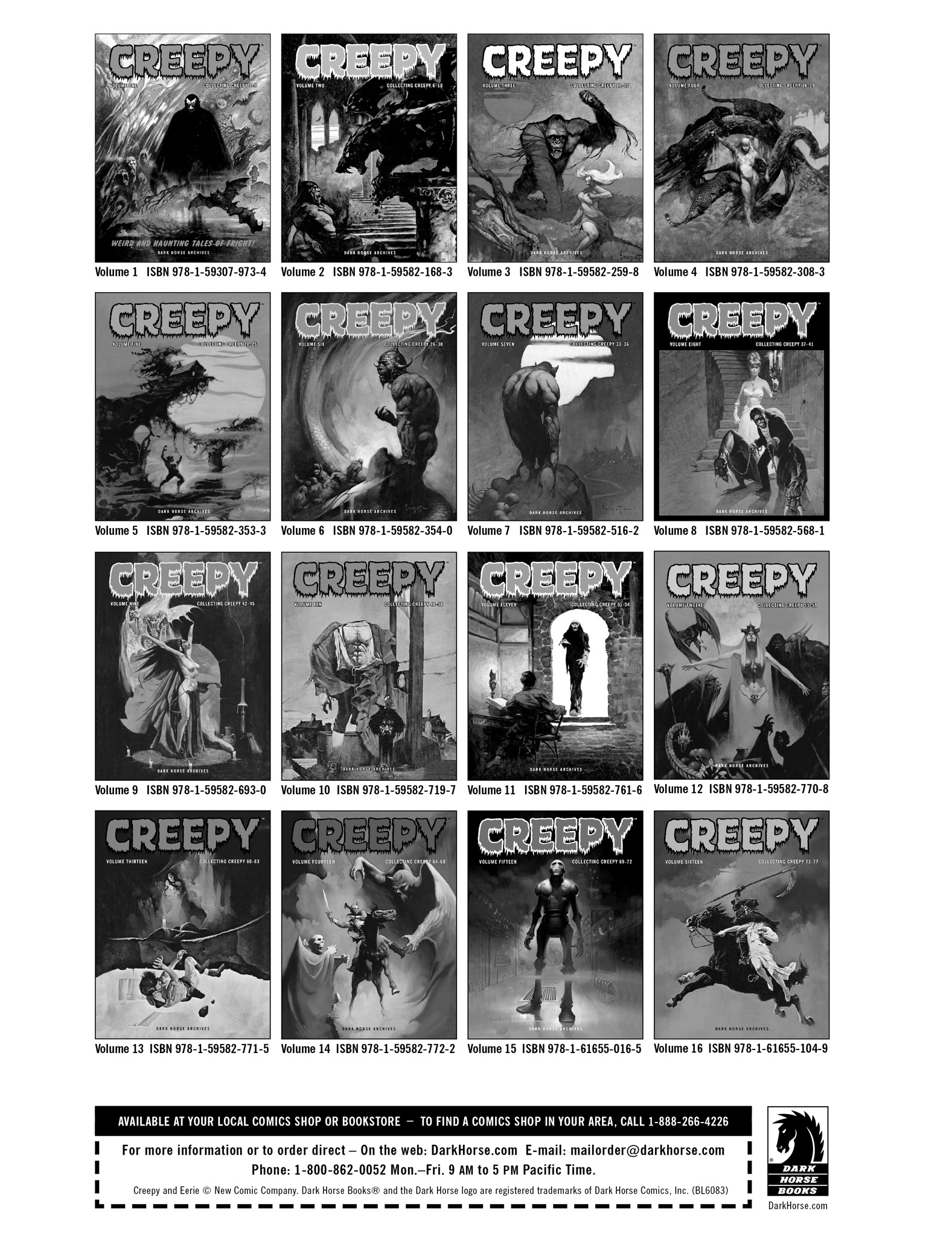 Read online Eerie Archives comic -  Issue # TPB 14 - 271