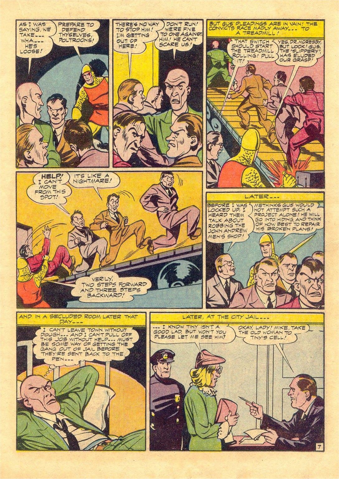 Read online Adventure Comics (1938) comic -  Issue #87 - 27