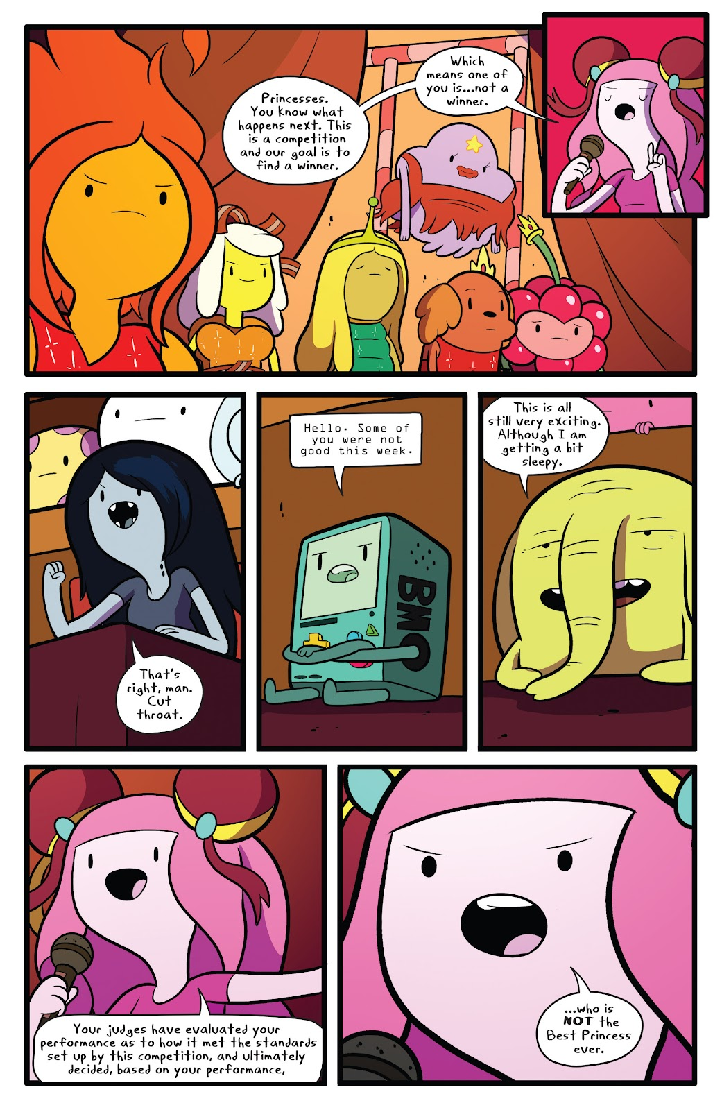 Read online Adventure Time comic -  Issue #63 - 20