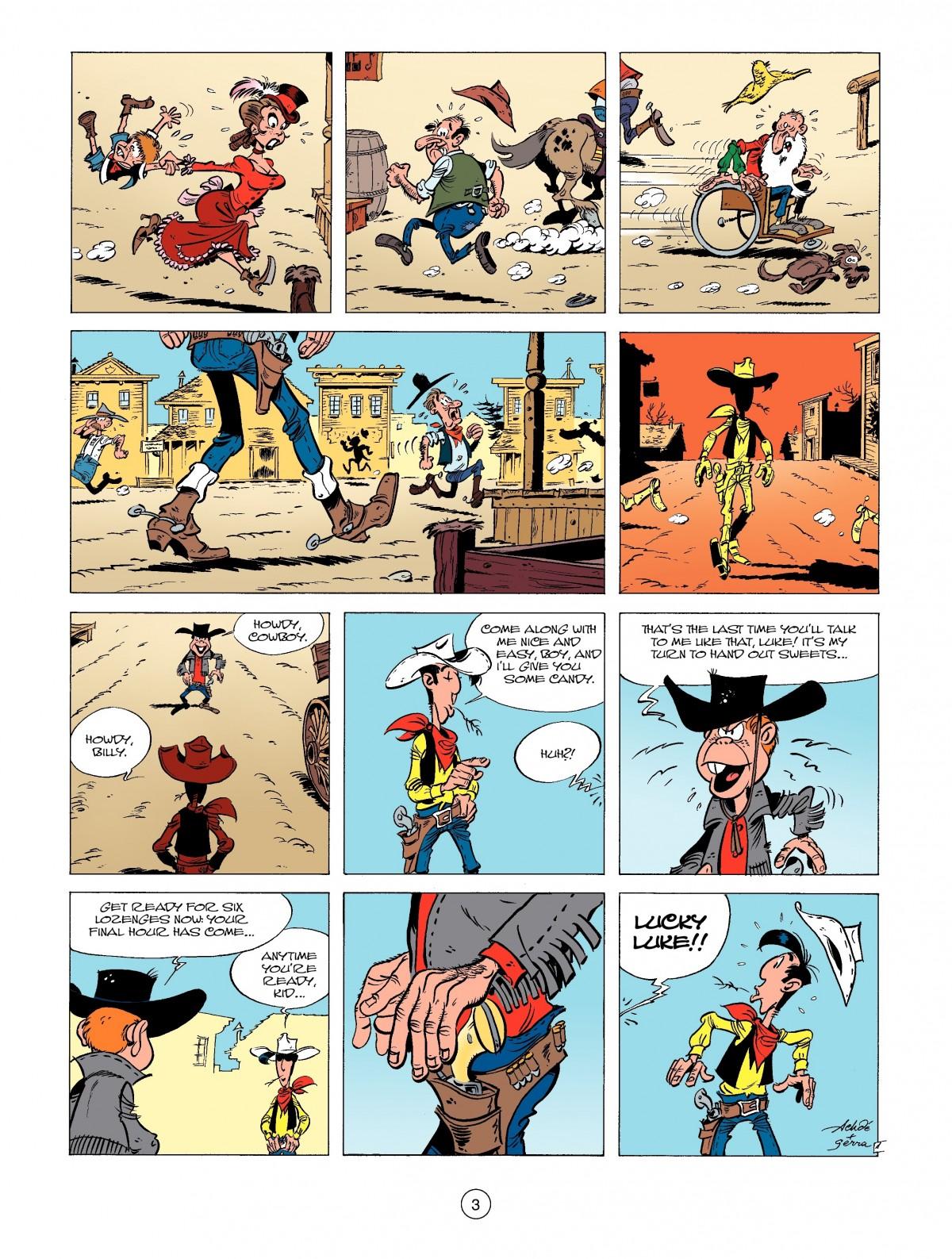 Read online A Lucky Luke Adventure comic -  Issue #39 - 3
