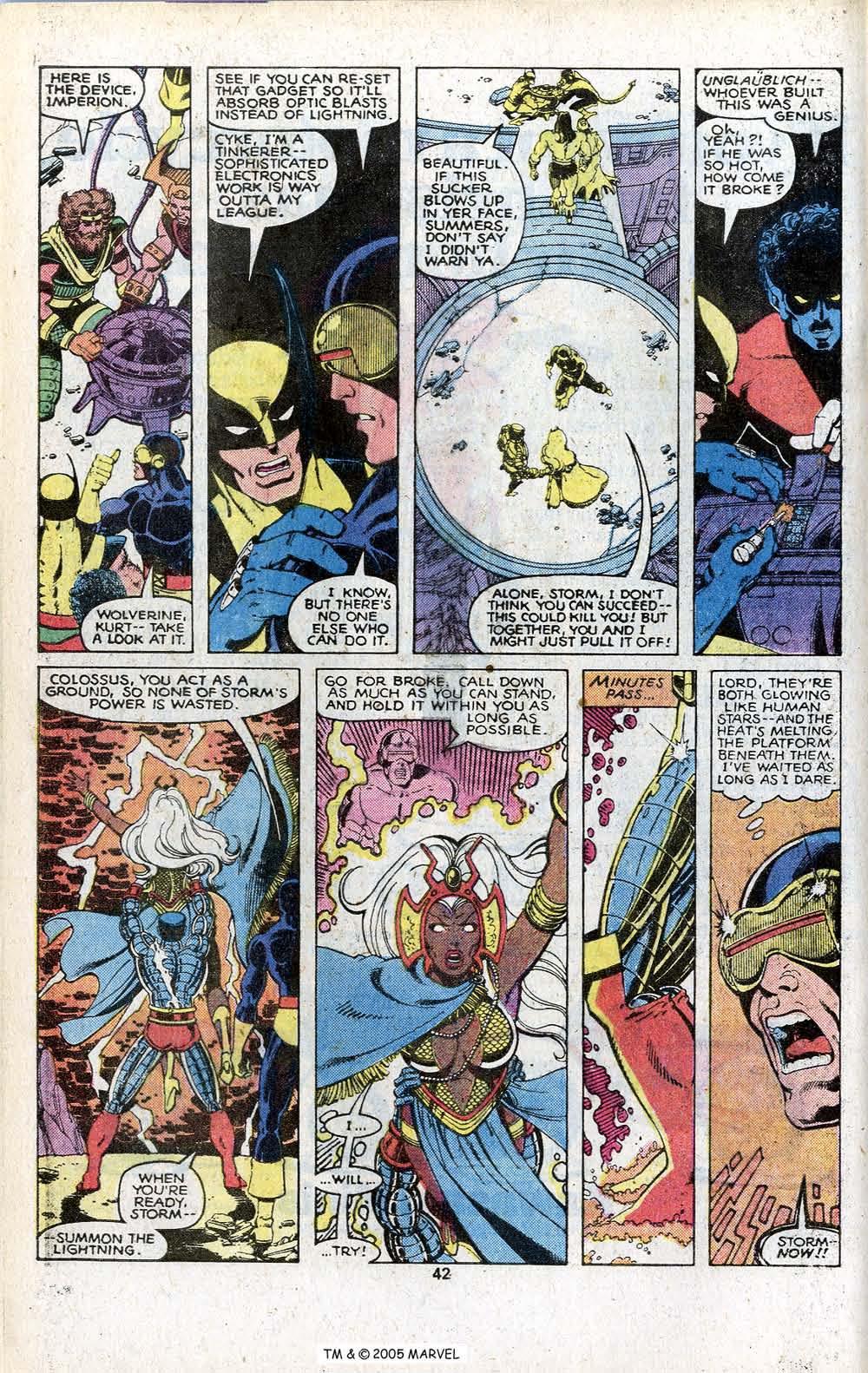 Read online Uncanny X-Men (1963) comic -  Issue # _Annual 3 - 44