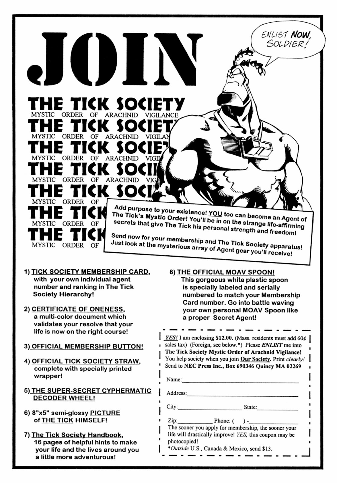 Read online The Tick comic -  Issue #13 - 26
