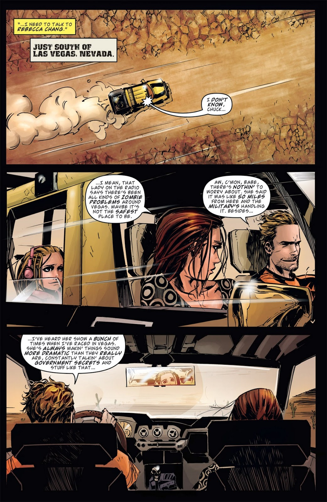 Read online Dead Rising: Road to Fortune comic -  Issue #1 - 23