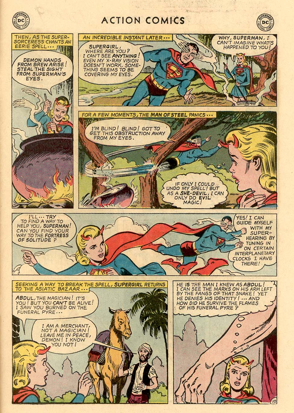 Read online Action Comics (1938) comic -  Issue #324 - 31