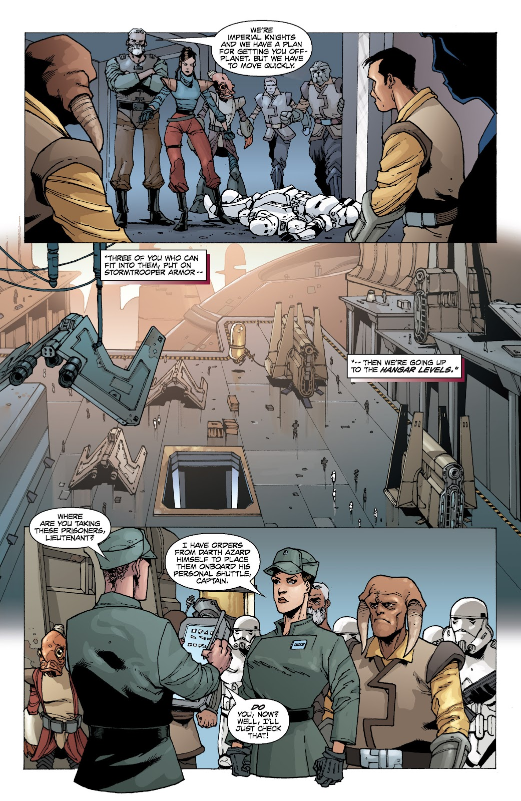 Read online Star Wars Legends: Legacy - Epic Collection comic -  Issue # TPB 2 (Part 1) - 89