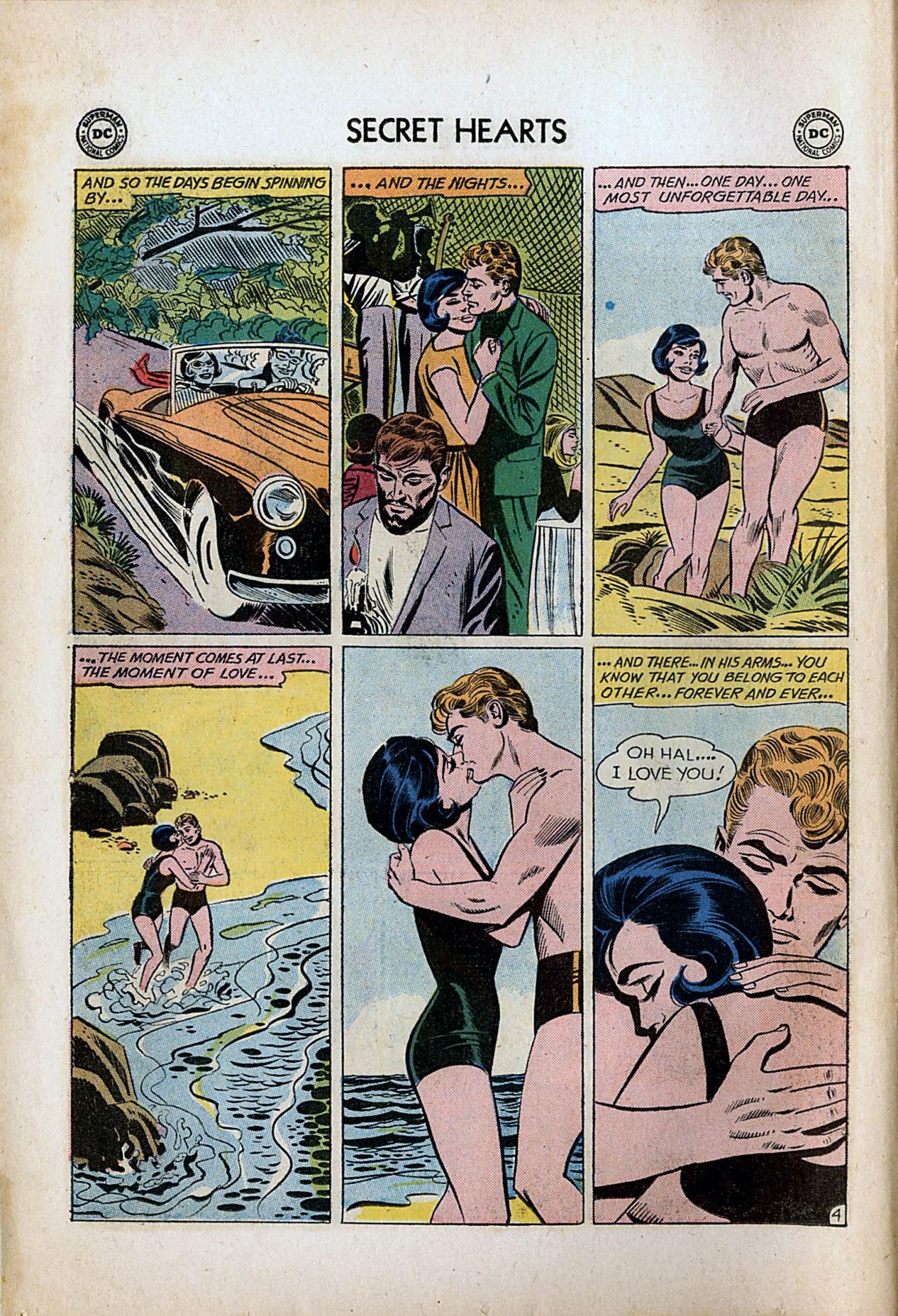Read online Secret Hearts comic -  Issue #80 - 6