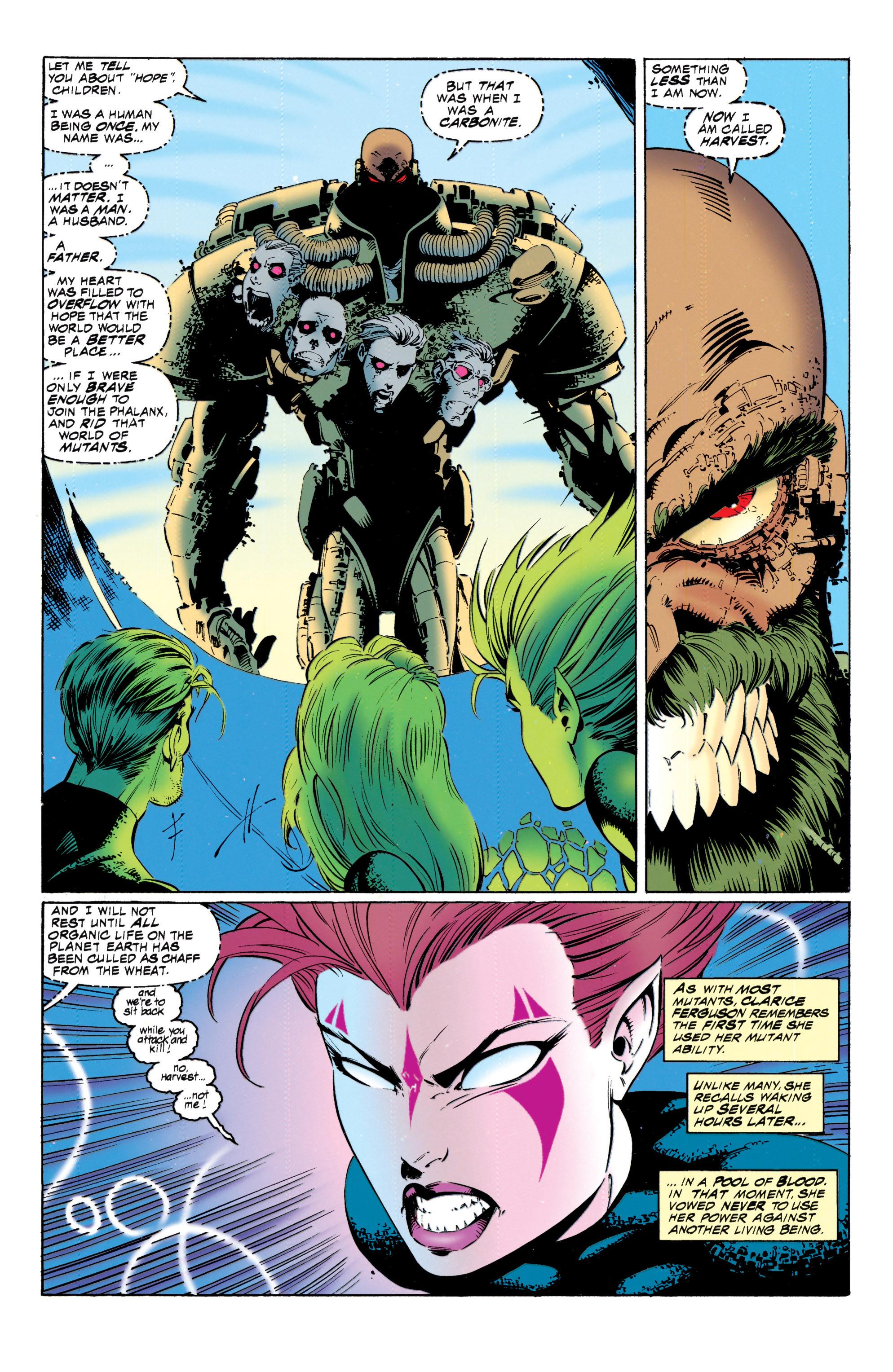 Read online Uncanny X-Men (1963) comic -  Issue #317 - 12