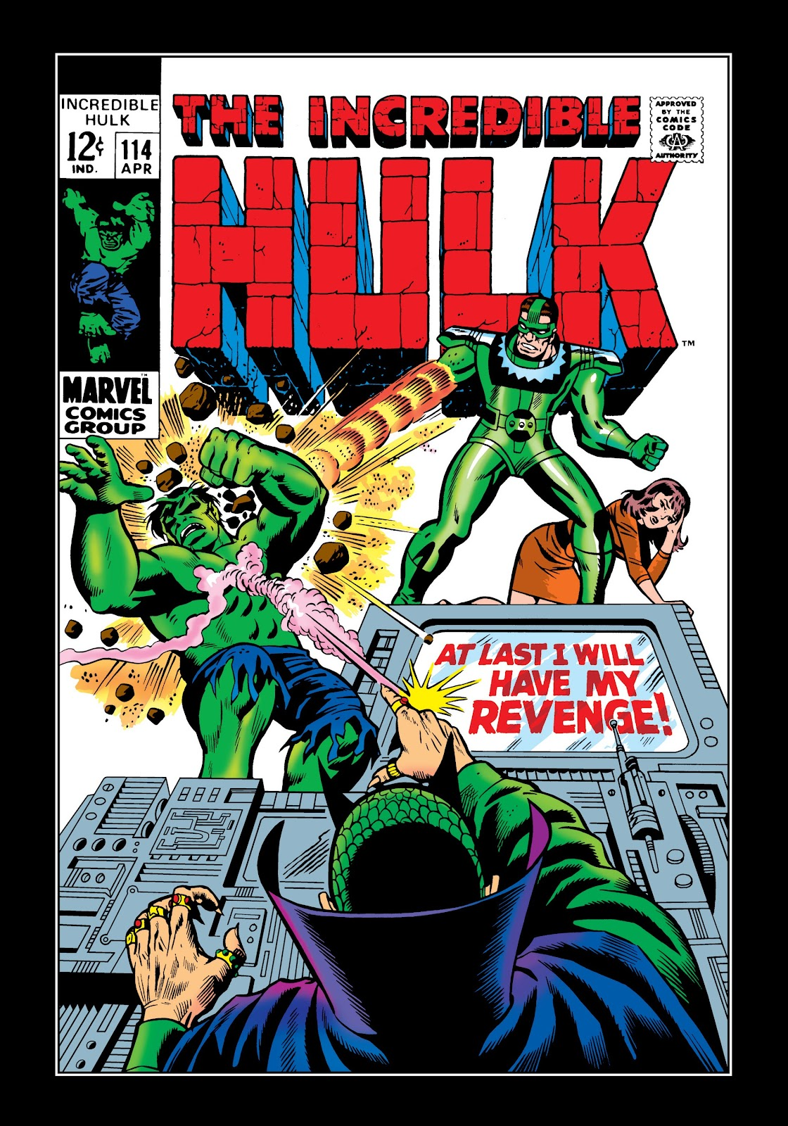 Read online Marvel Masterworks: The Incredible Hulk comic -  Issue # TPB 5 (Part 1) - 69