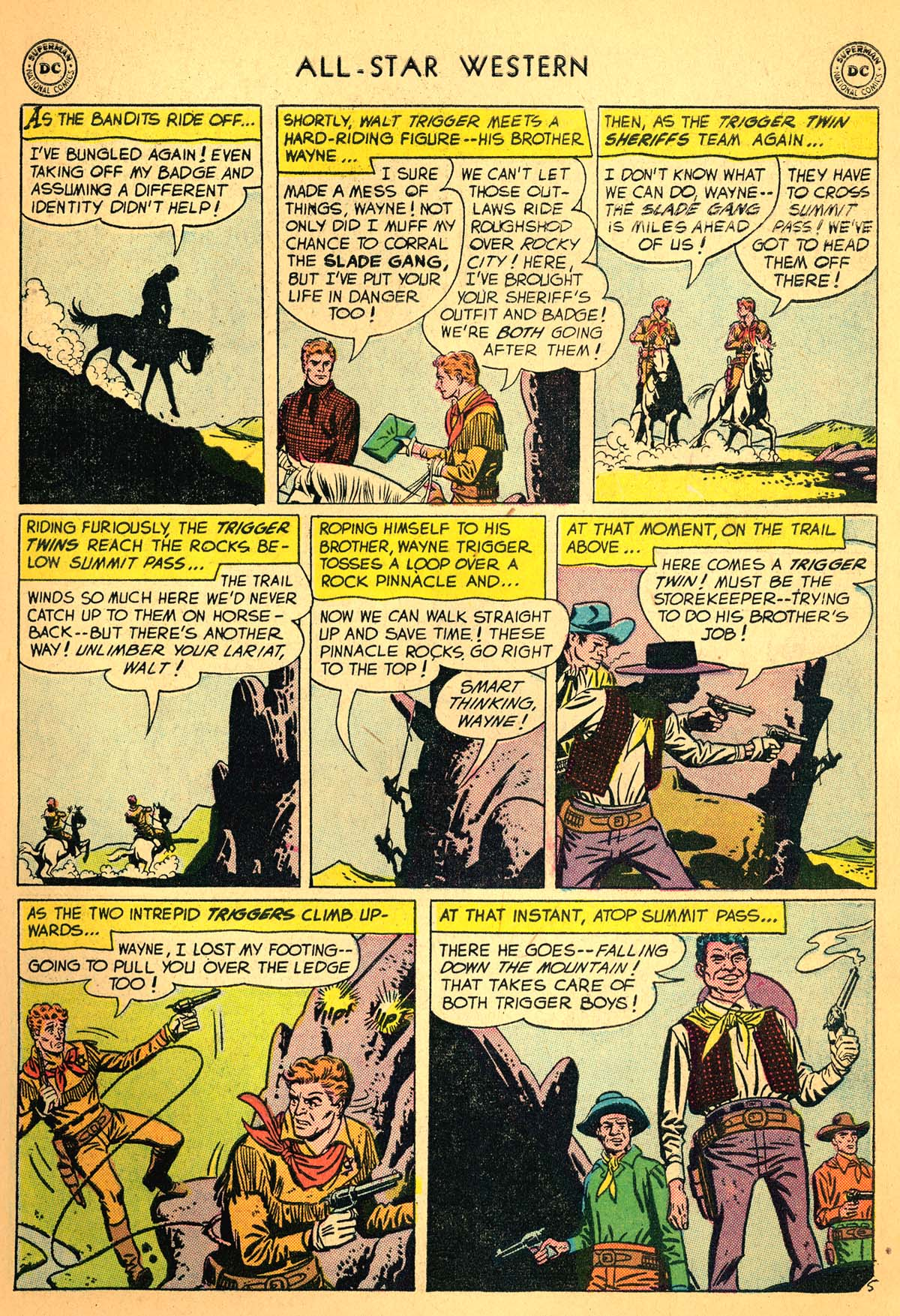 Read online All-Star Western (1951) comic -  Issue #99 - 7