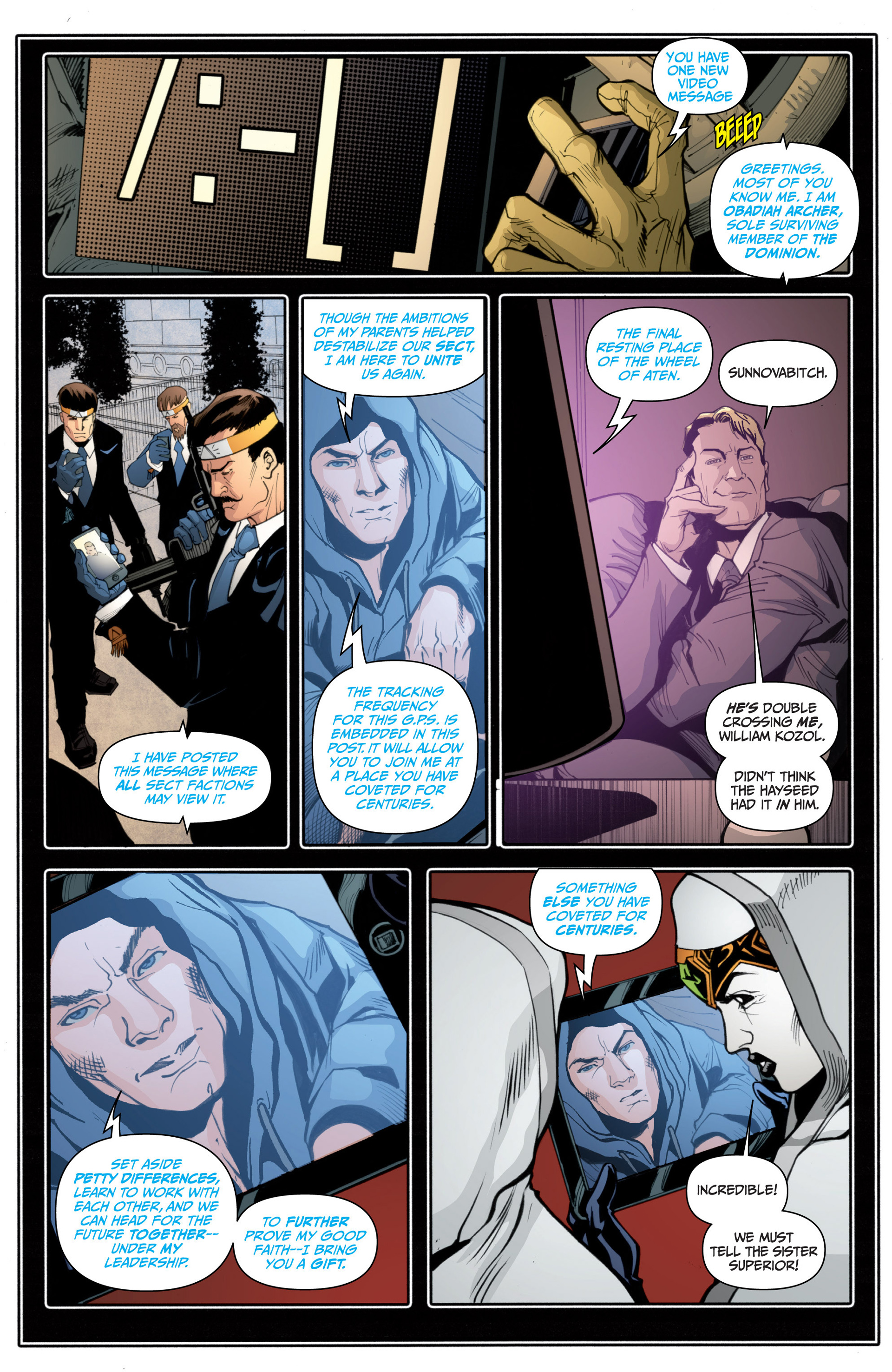 Read online Archer and Armstrong comic -  Issue #16 - 22