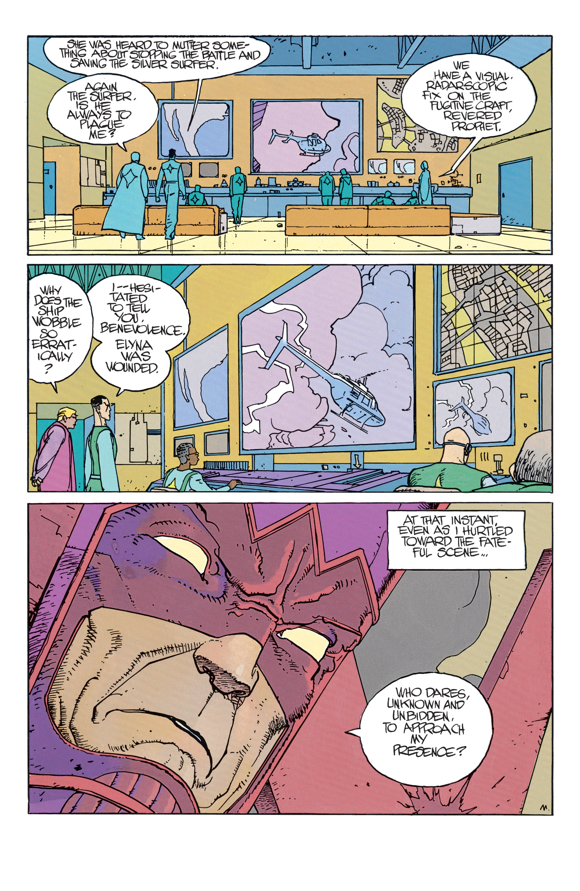 Read online Silver Surfer: Parable comic -  Issue # TPB - 41