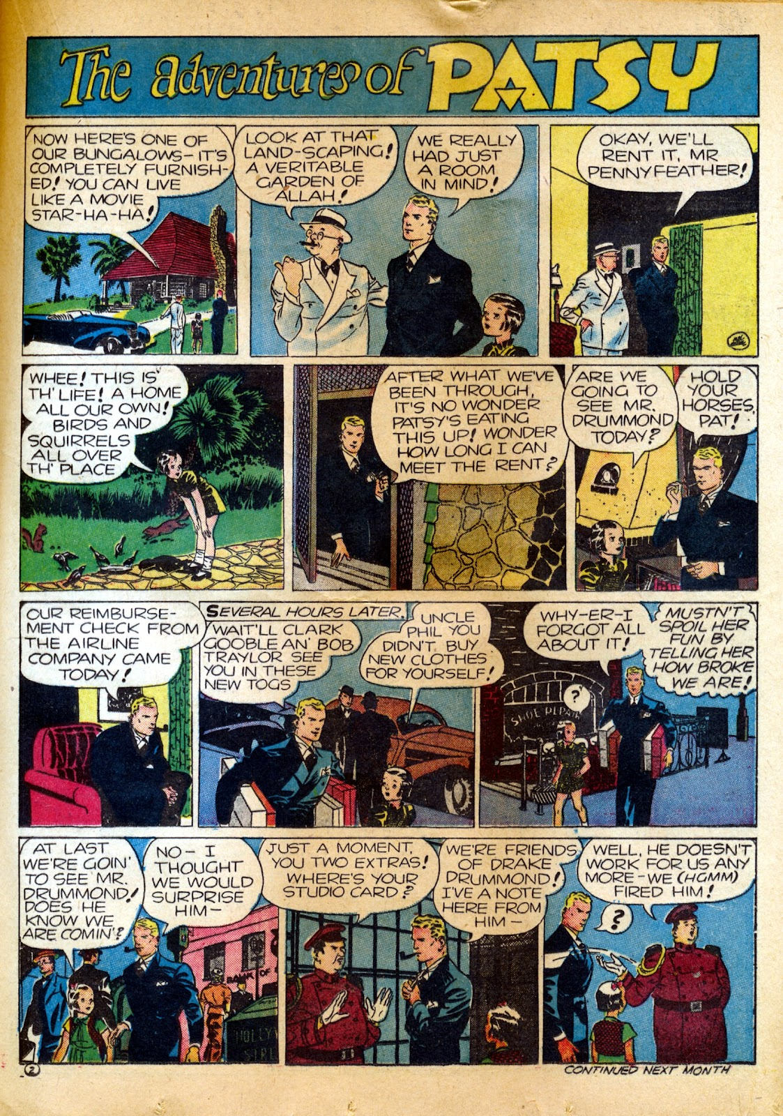 Read online Famous Funnies comic -  Issue #82 - 31