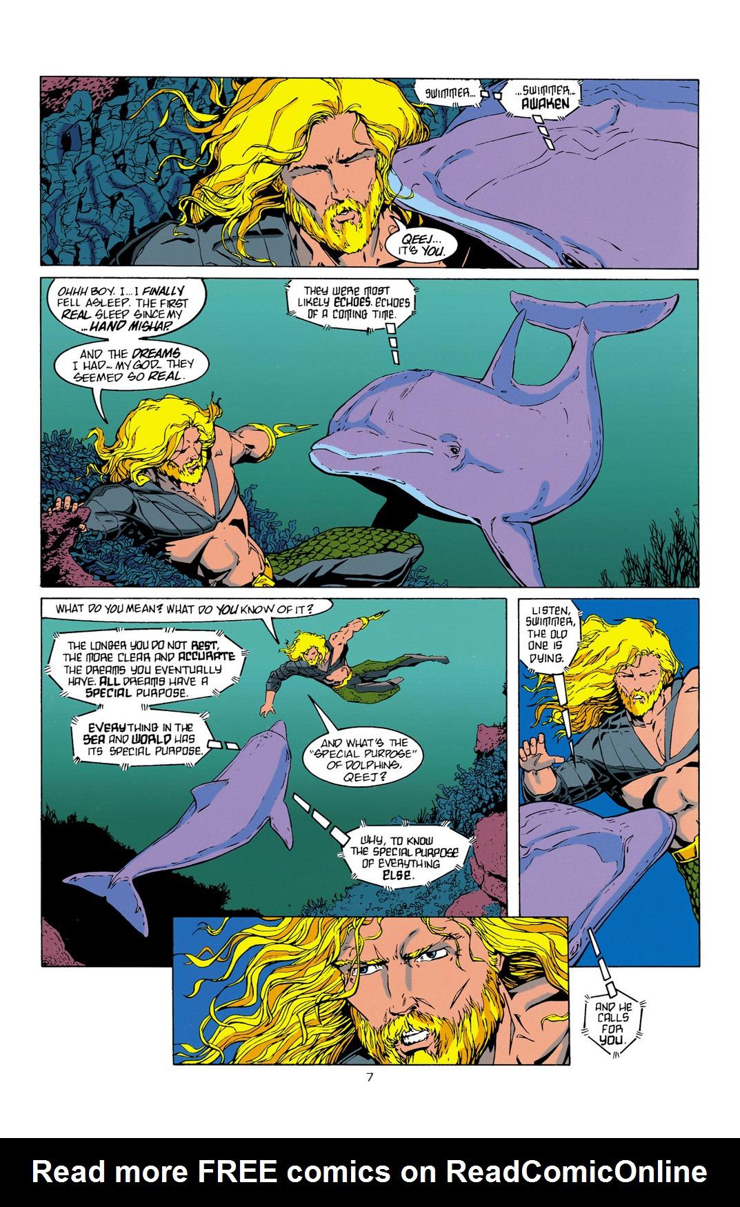 Read online Aquaman (1994) comic -  Issue #10 - 8