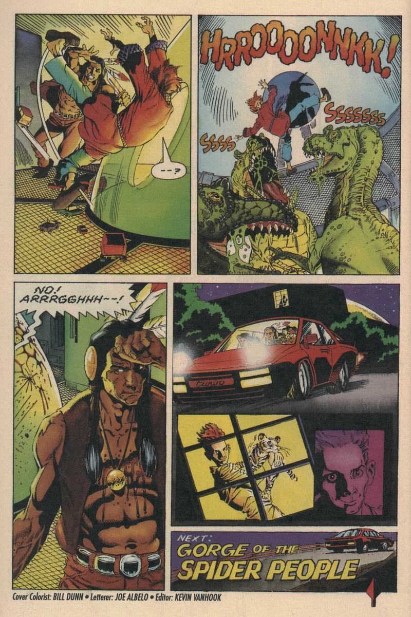 Read online Turok, Dinosaur Hunter (1993) comic -  Issue #6 - 22