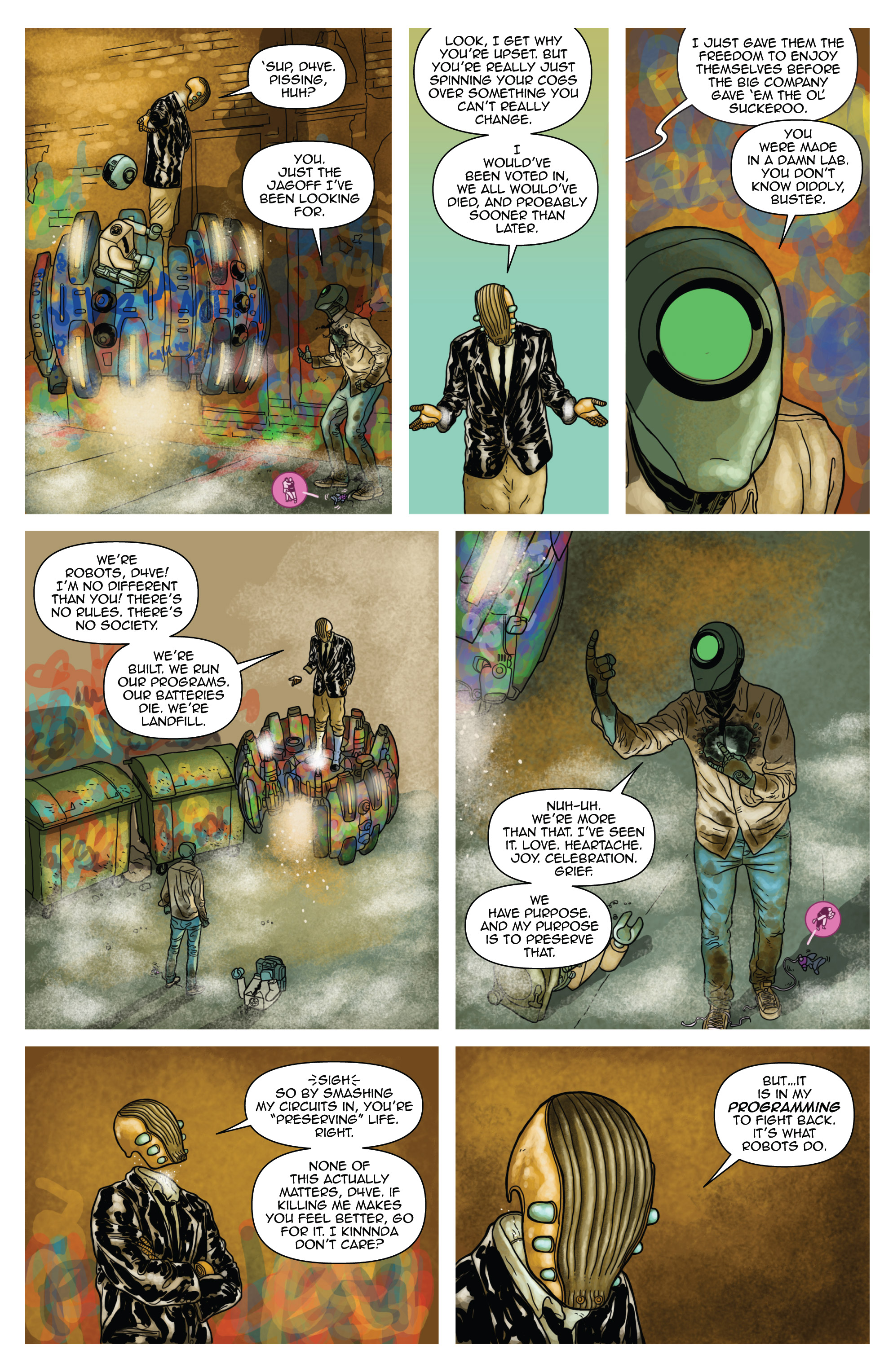Read online D4VEocracy comic -  Issue #4 - 12