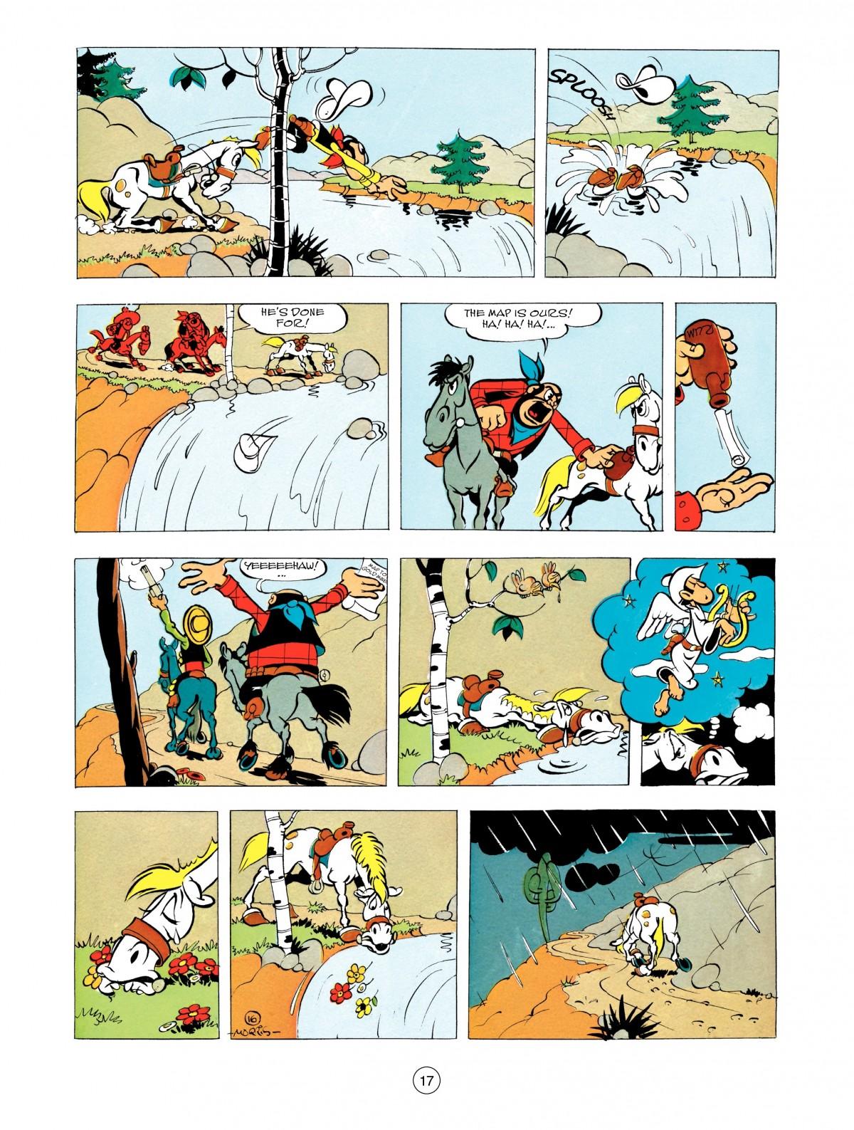 Read online A Lucky Luke Adventure comic -  Issue #48 - 17