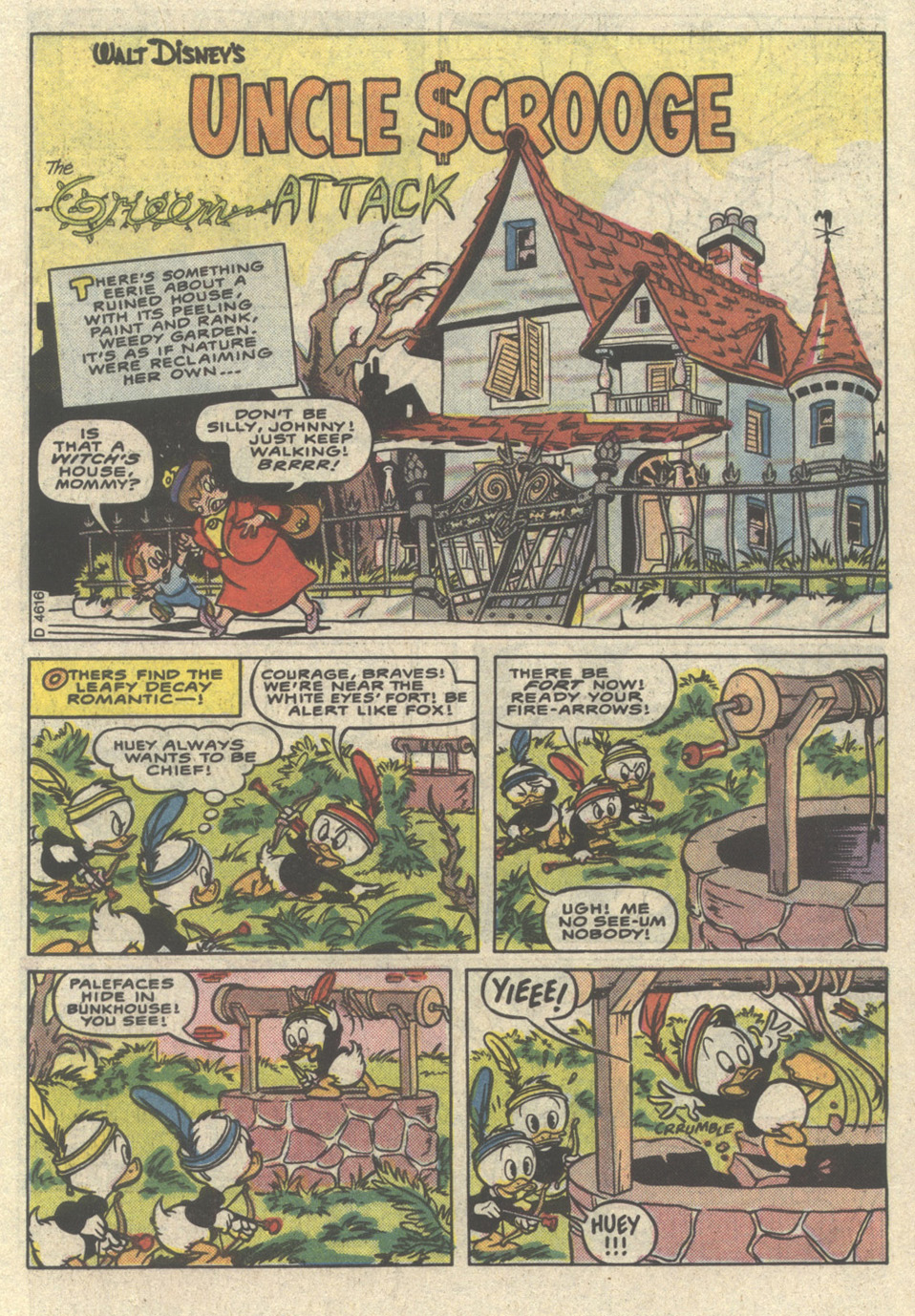 Read online Uncle Scrooge (1953) comic -  Issue #221 - 3