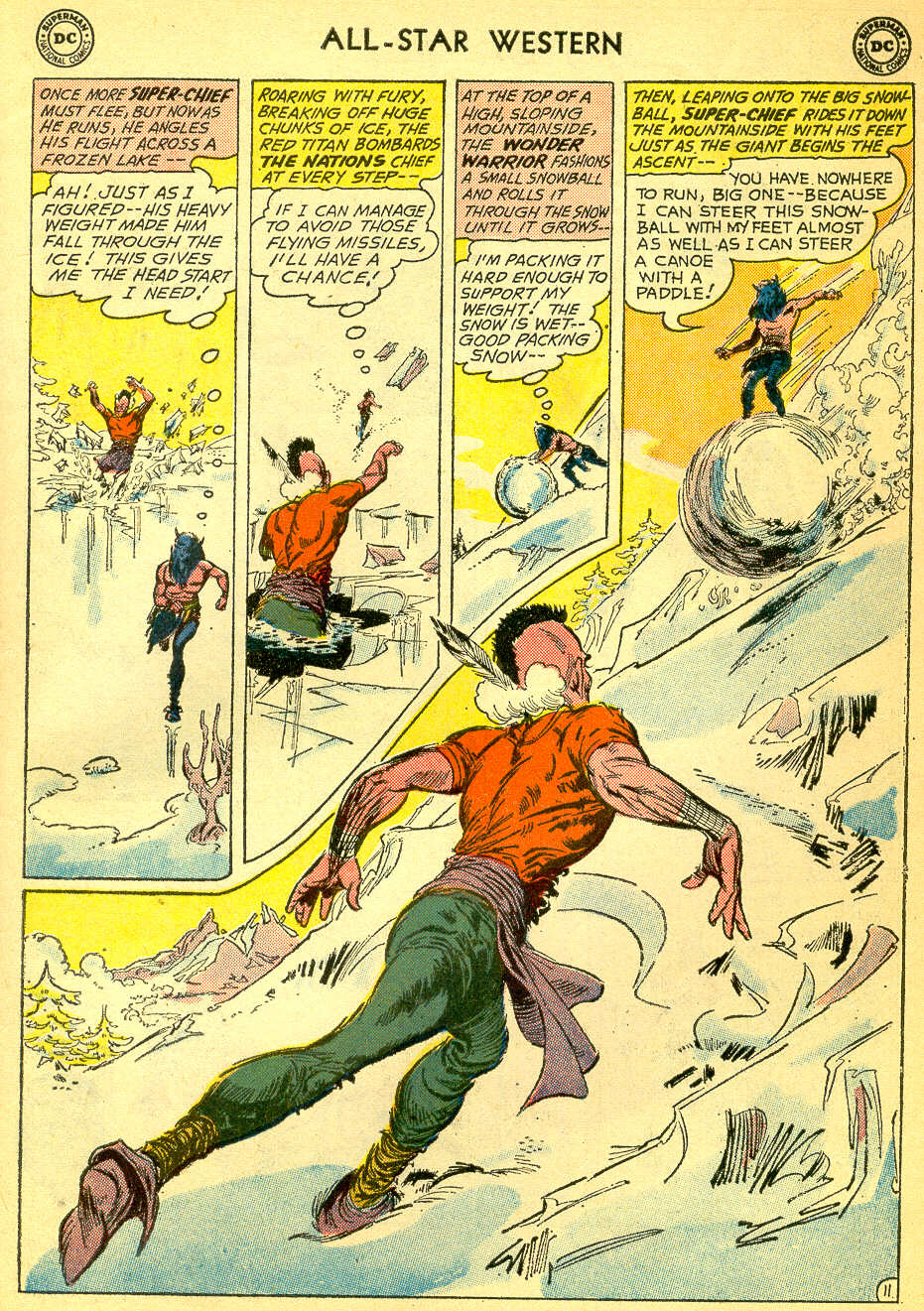 Read online All-Star Western (1951) comic -  Issue #118 - 31