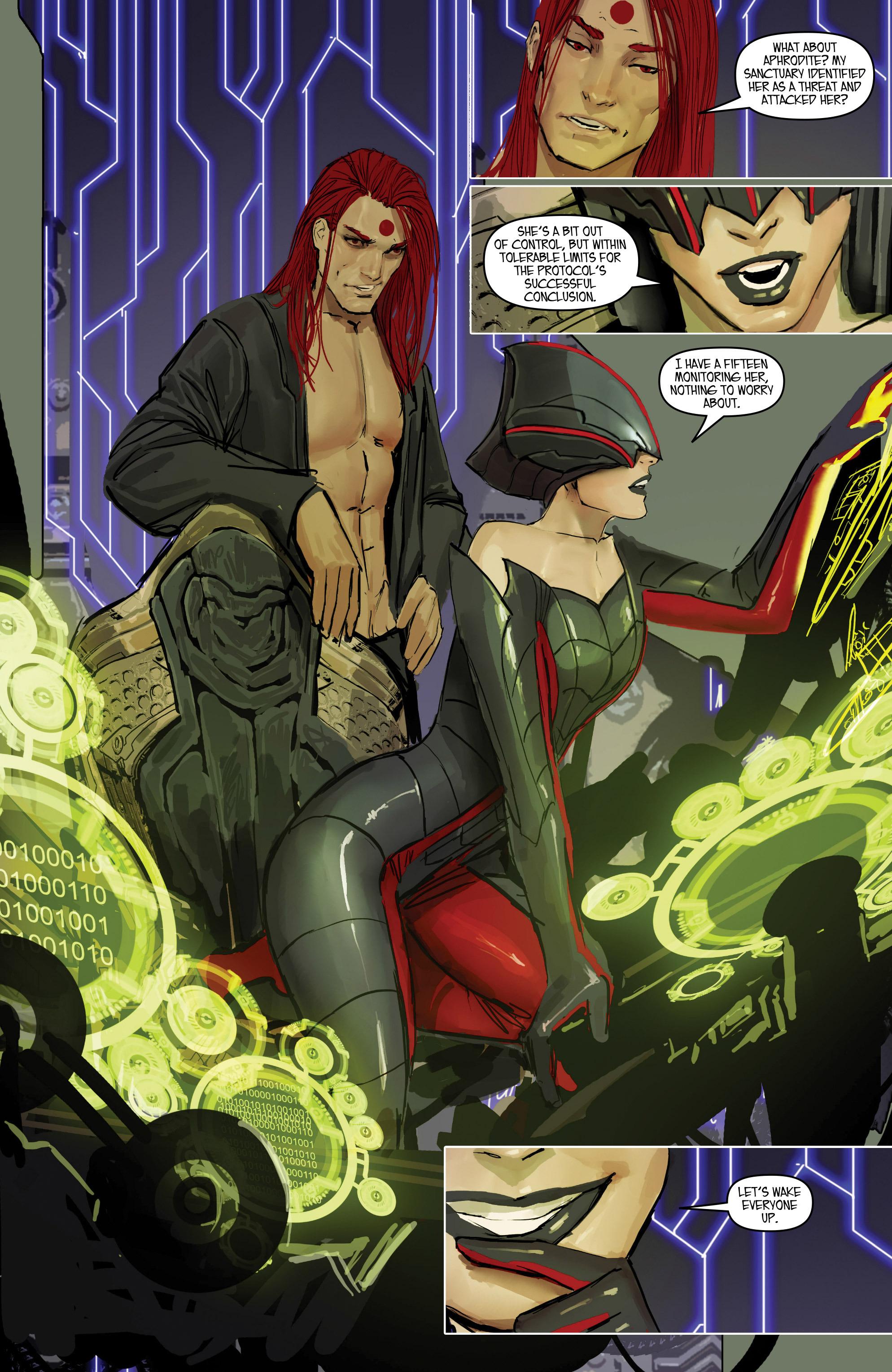 Read online Aphrodite IX (2013) comic -  Issue #Aphrodite IX (2013) _TPB 2 - 59