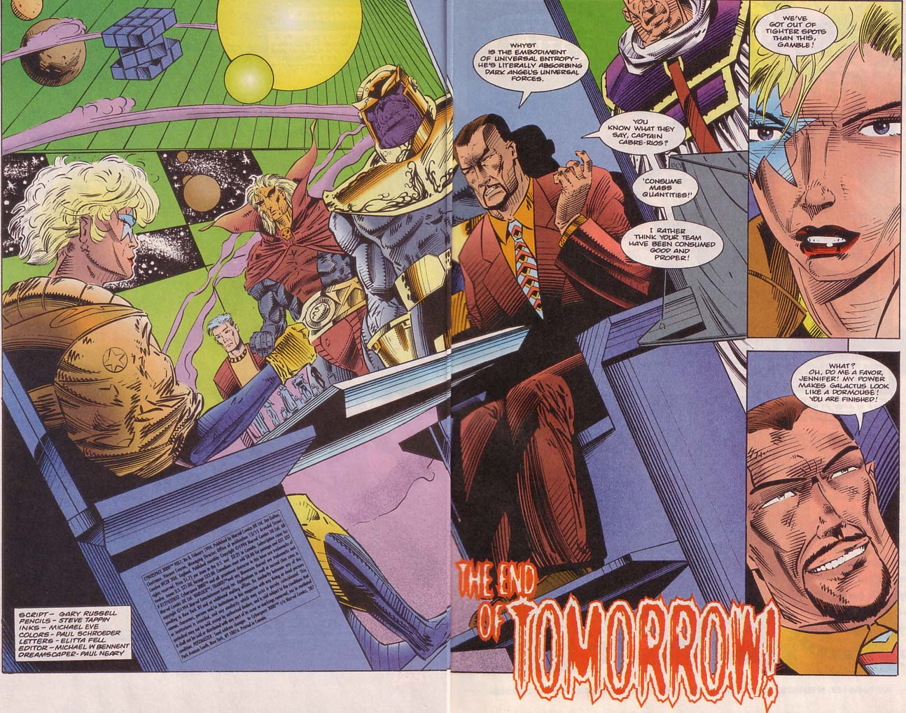 Read online Cyberspace 3000 comic -  Issue #8 - 3