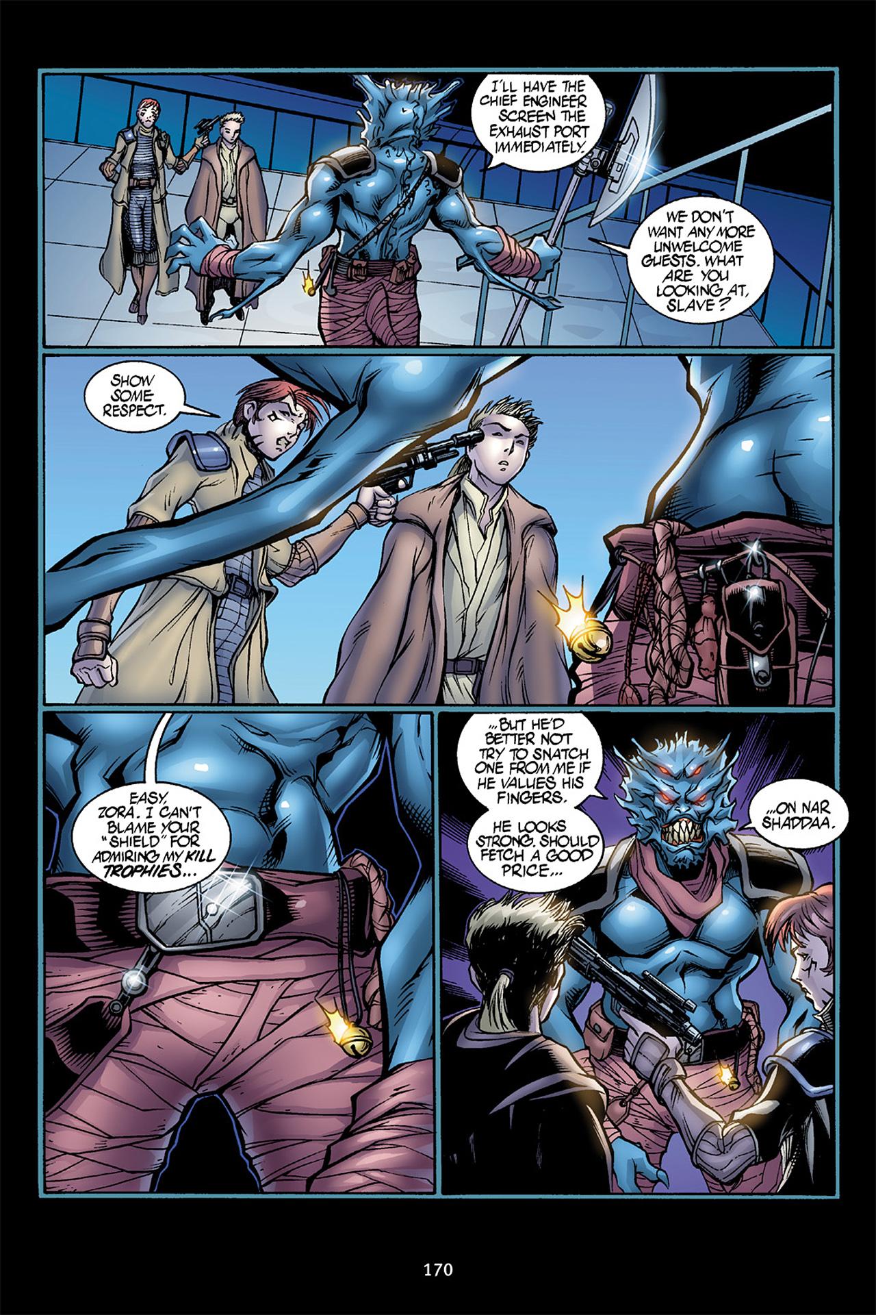 Read online Star Wars Omnibus comic -  Issue # Vol. 10 - 169