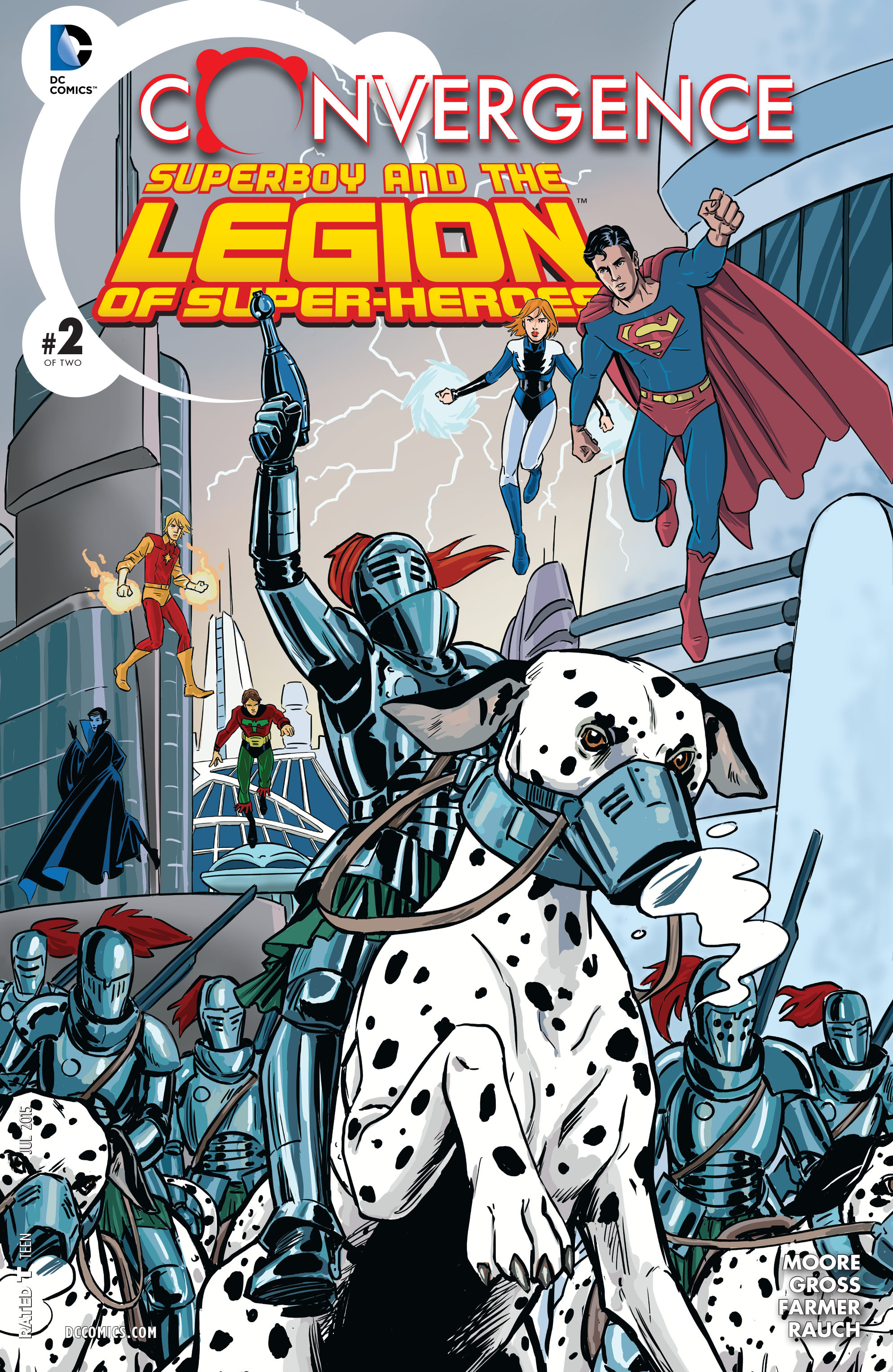 Read online Convergence Superboy and the Legion of Super-Heroes comic -  Issue #2 - 1