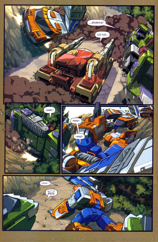 Read online Transformers Armada comic -  Issue #15 - 17