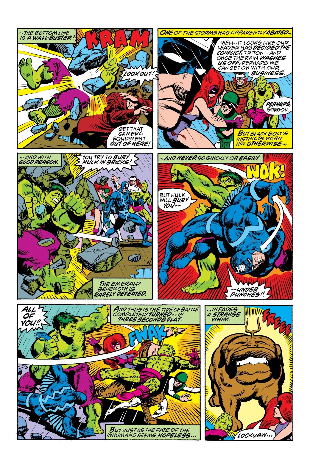 Read online Marvel Masterworks: The Inhumans comic -  Issue # TPB 2 (Part 3) - 6