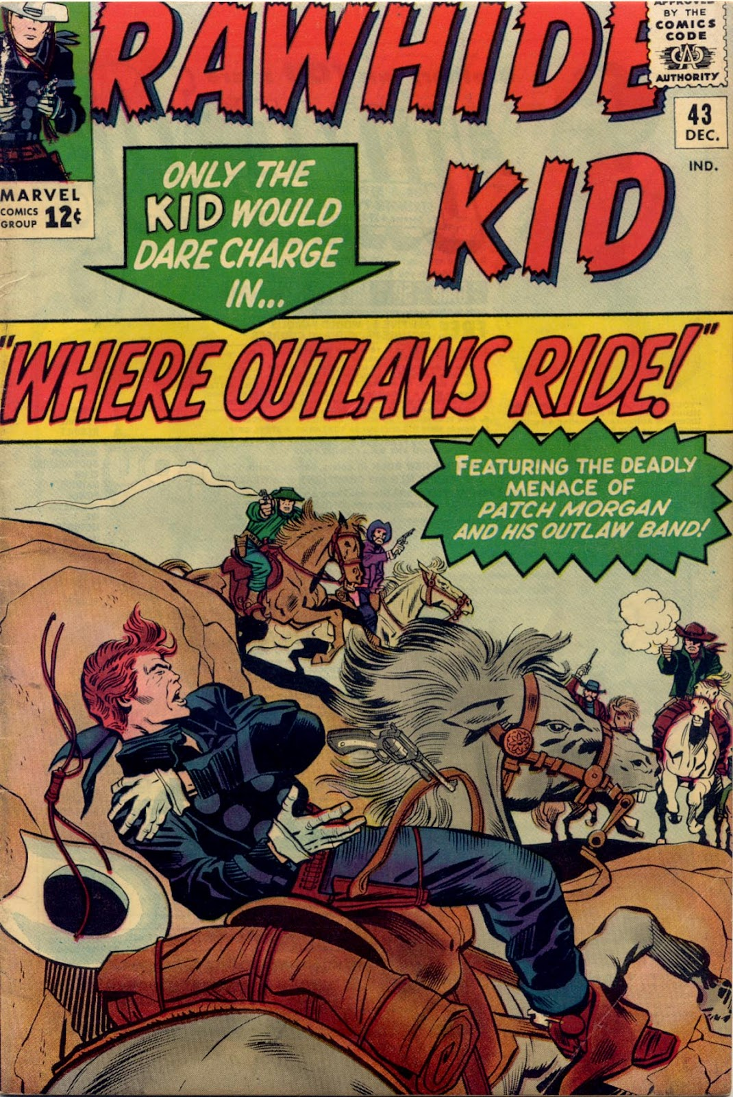 The Rawhide Kid (1955) issue 43 - Page 1