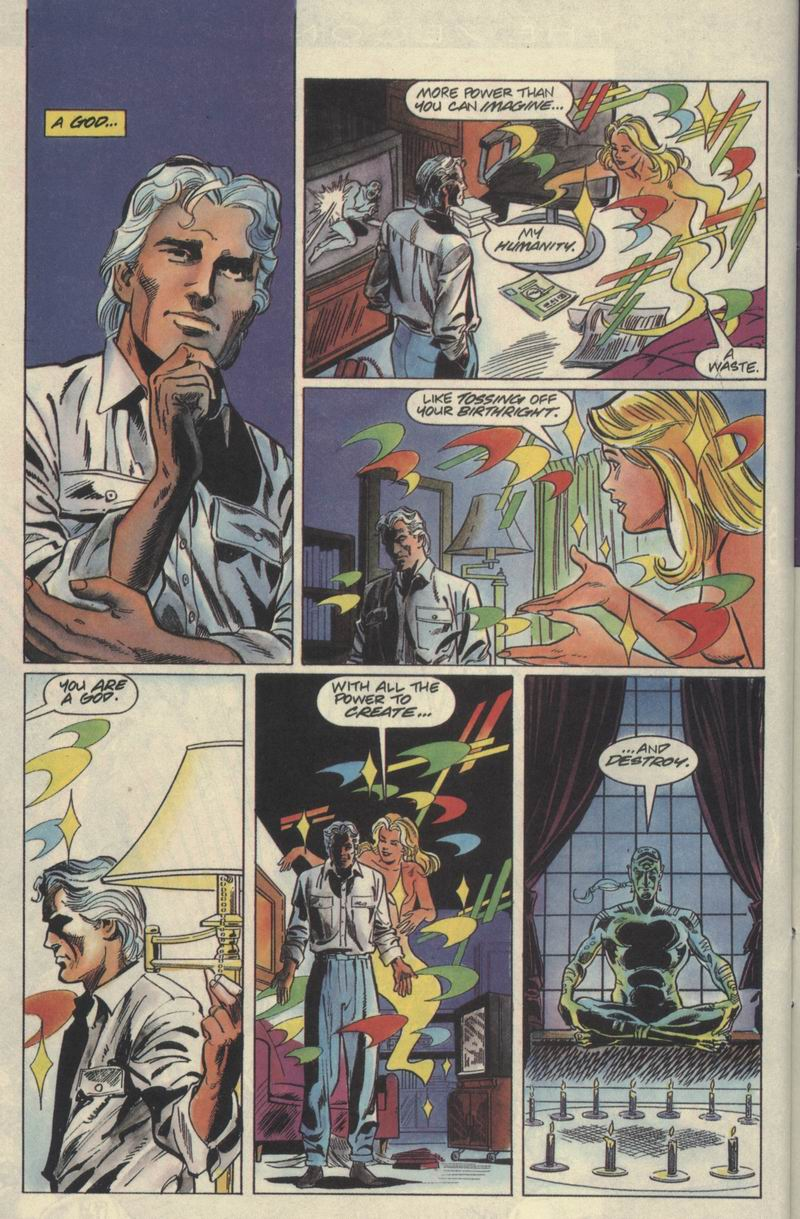 Read online Solar, Man of the Atom comic -  Issue #21 - 20