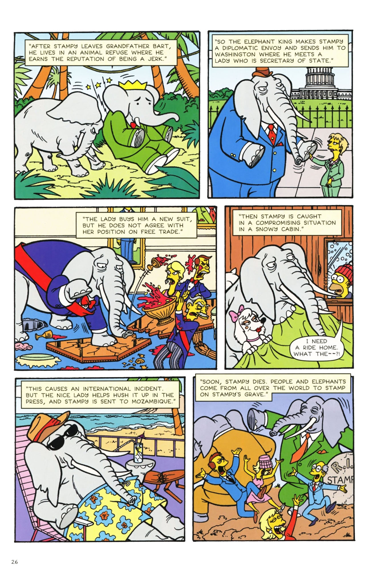 Read online Simpsons Comics comic -  Issue #160 - 24