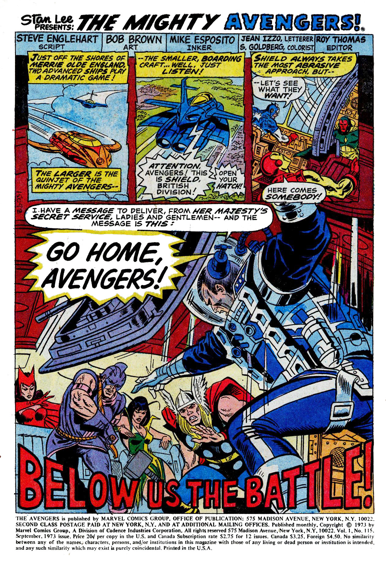 The Avengers (1963) 115 Page 1