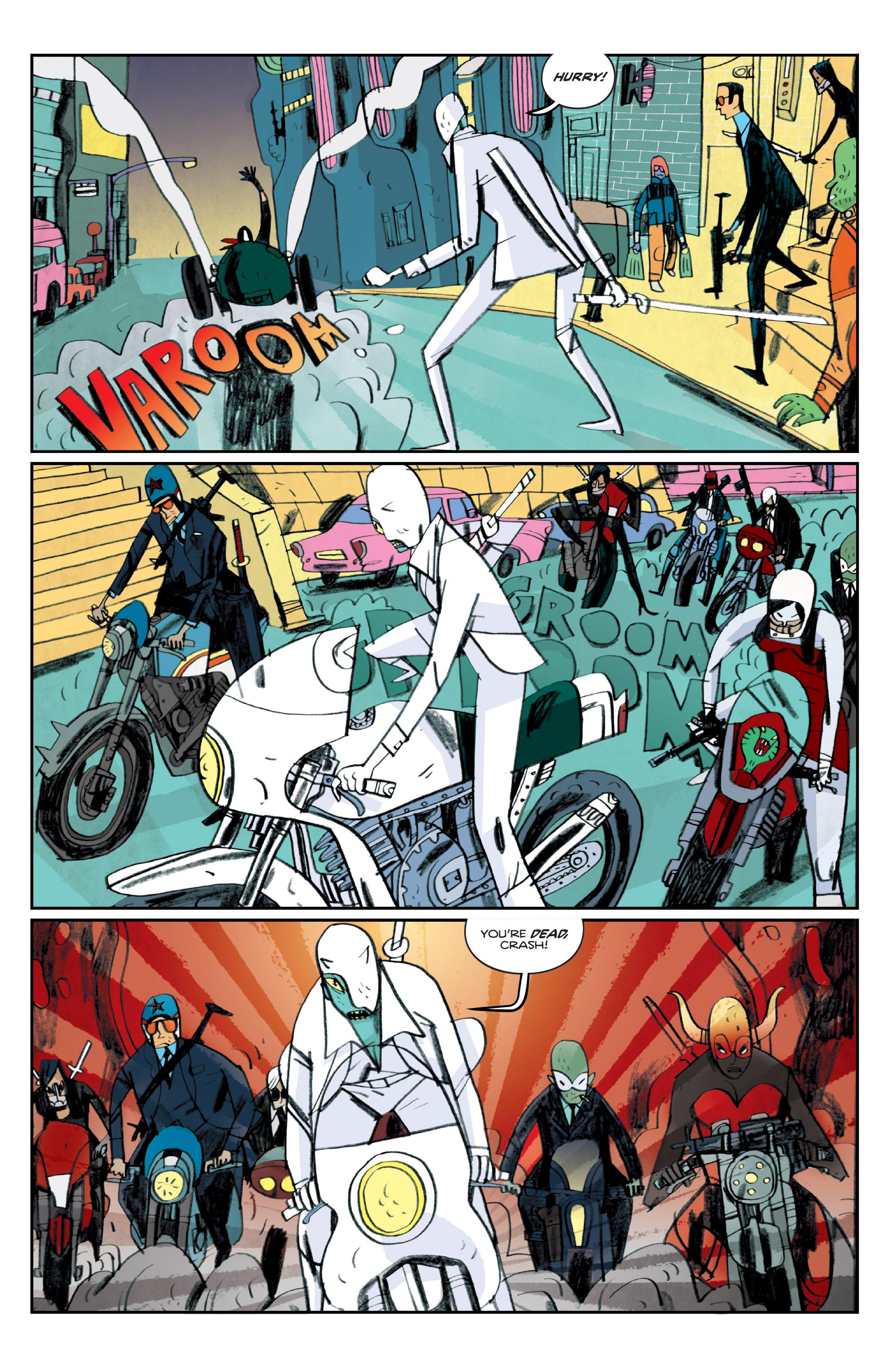Read online Helena Crash comic -  Issue #4 - 15