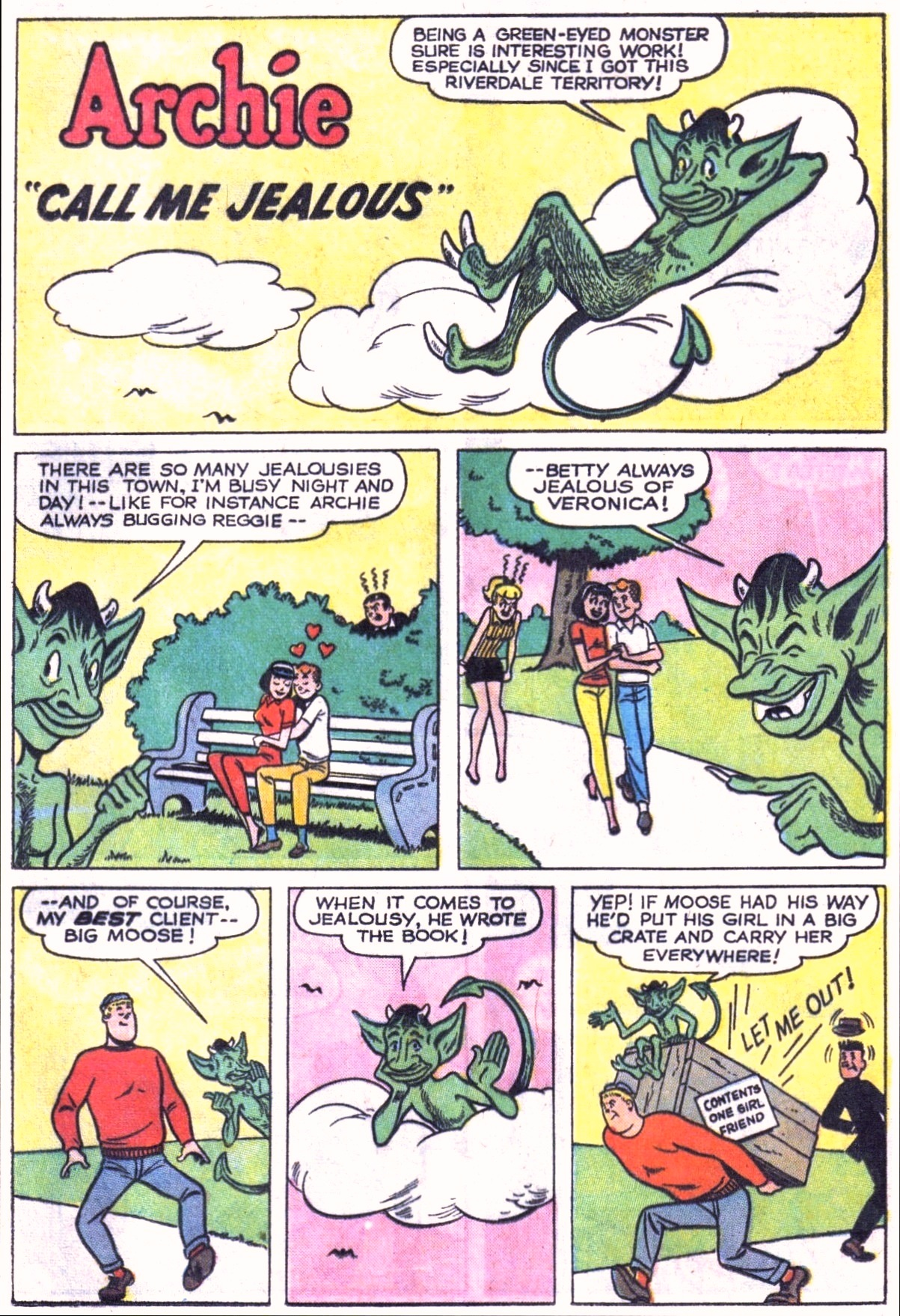 Read online Archie (1960) comic -  Issue #151 - 29