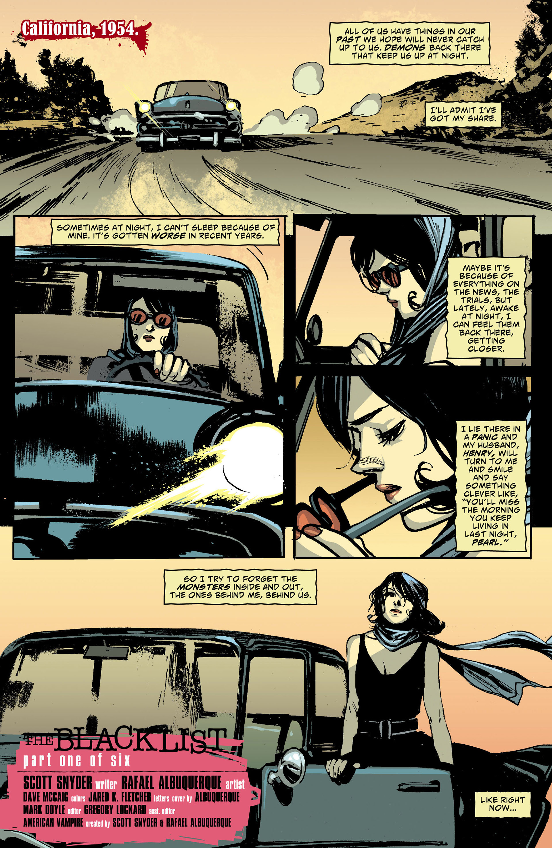 Read online American Vampire comic -  Issue #28 - 2