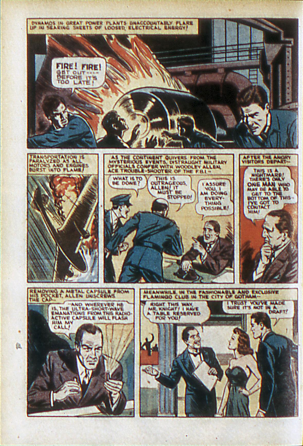 Read online Adventure Comics (1938) comic -  Issue #61 - 5